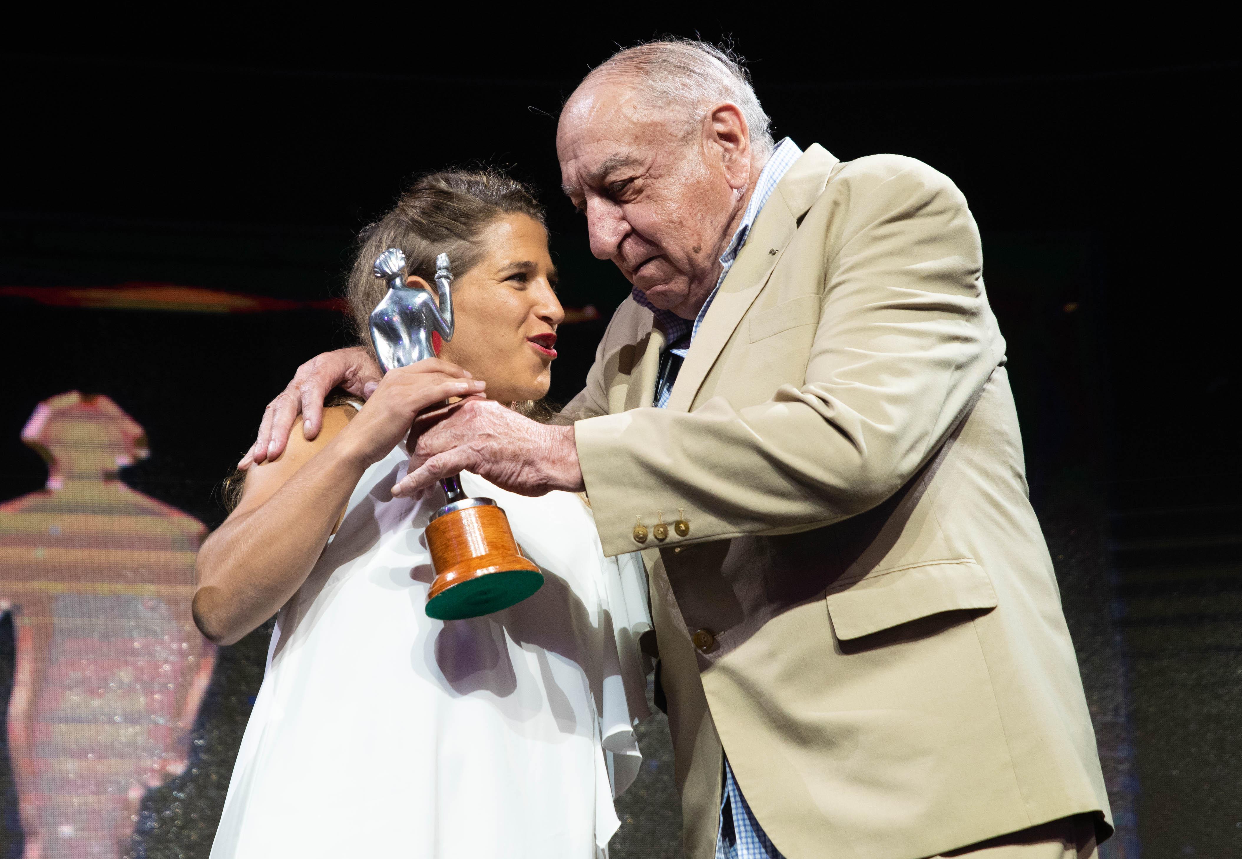 Paula Preto volvió a ser elegida como la mejor del judo en los premios Olimpia 2019