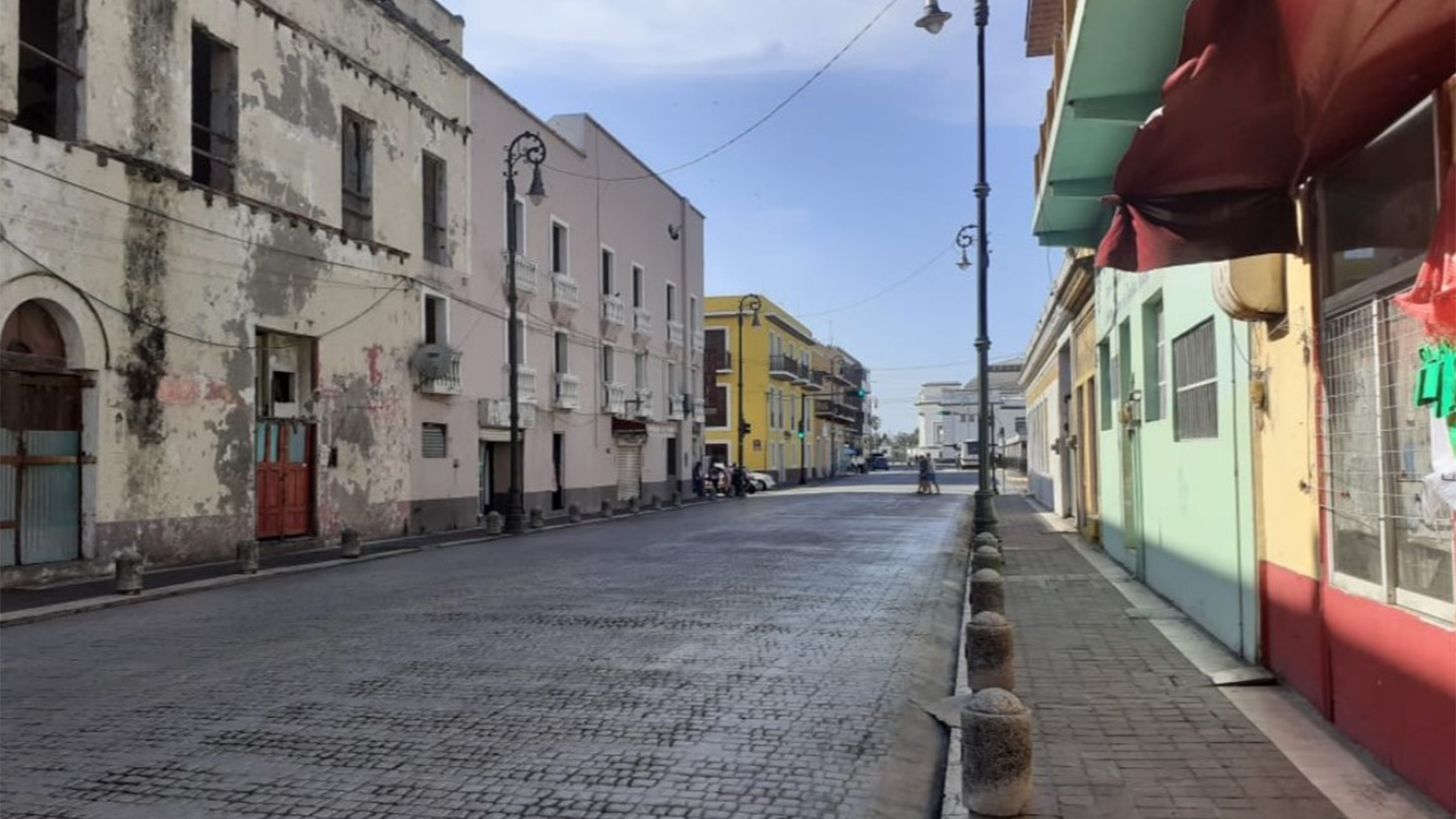 Así se vieron las calles de Veracruz durante el día de hoy (Foto: Twitter@rmga57)