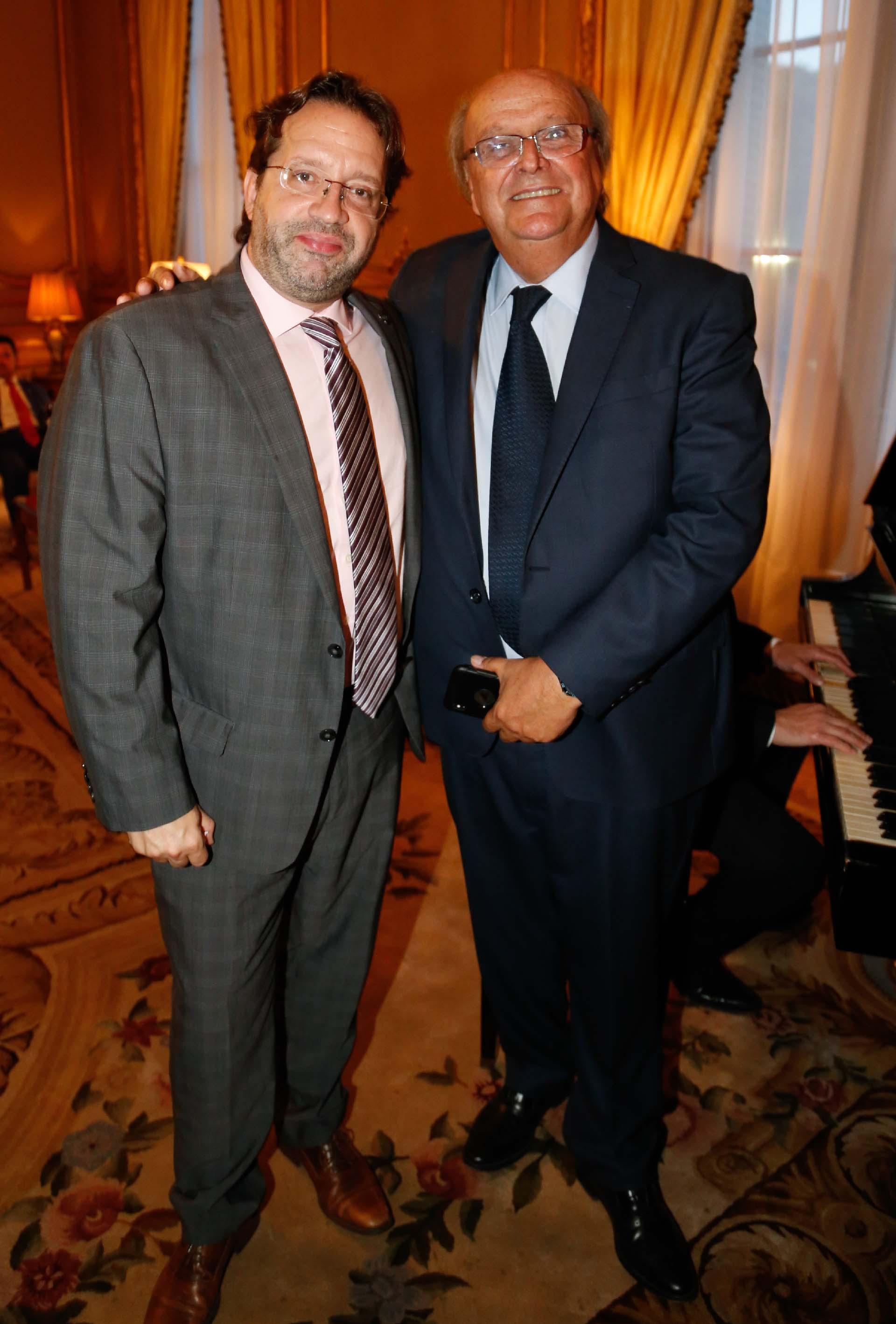 Los diputados Marco Lavagna y José Ignacio De Mendiguren