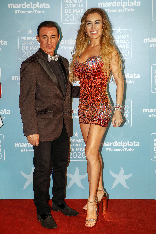 Fátima Florez y su marido, Norberto Marcos