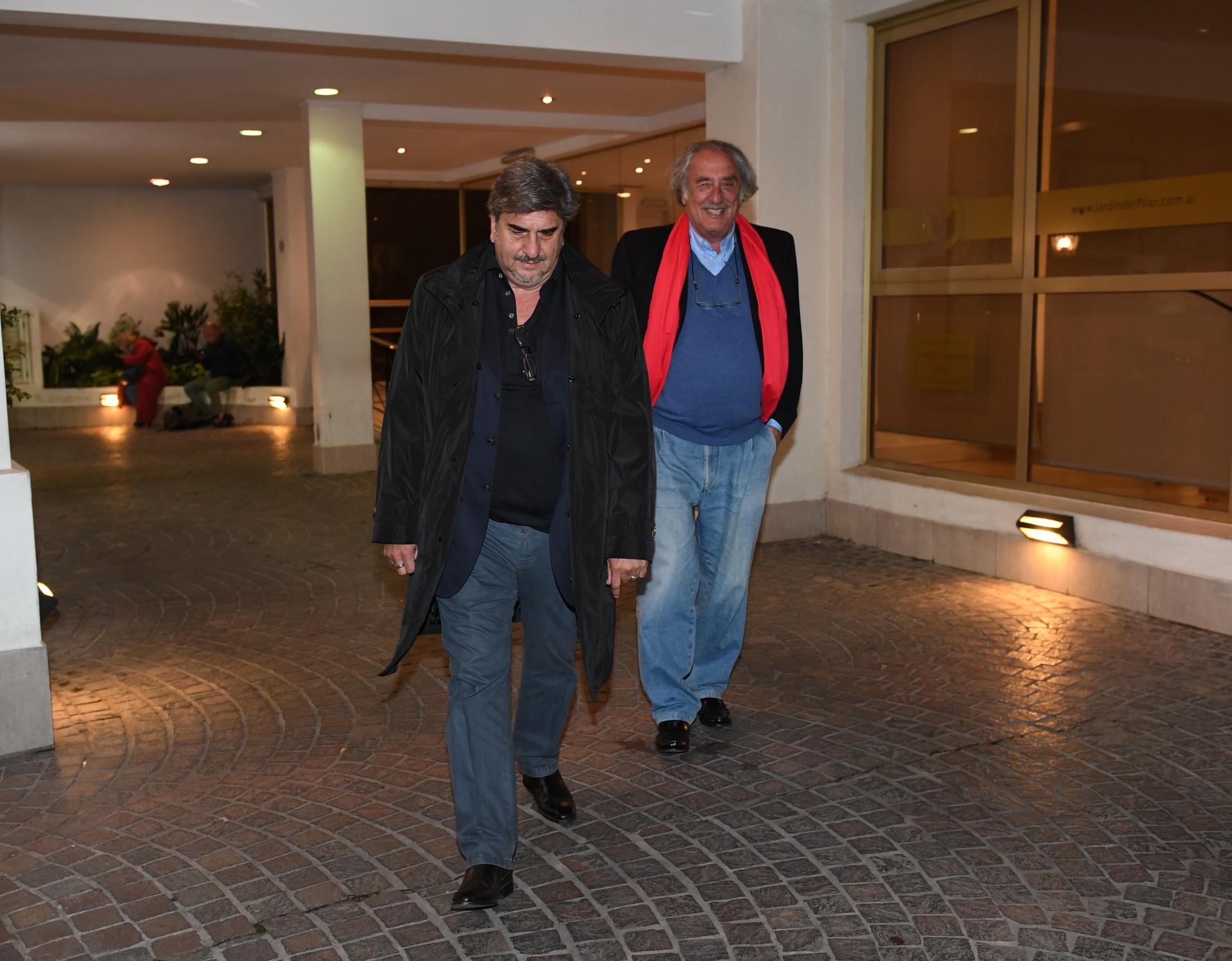 El ex vocero de Cristina Kirchner, Alfredo Scoccimarro, y el analista Raúl Timerman