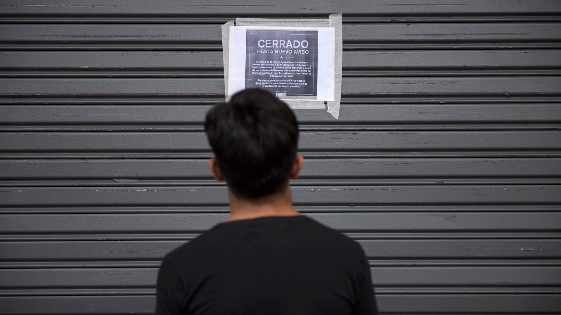 Los museos de la Capital Federal cerraron sus puertas luego del anuncio del gobierno porteño