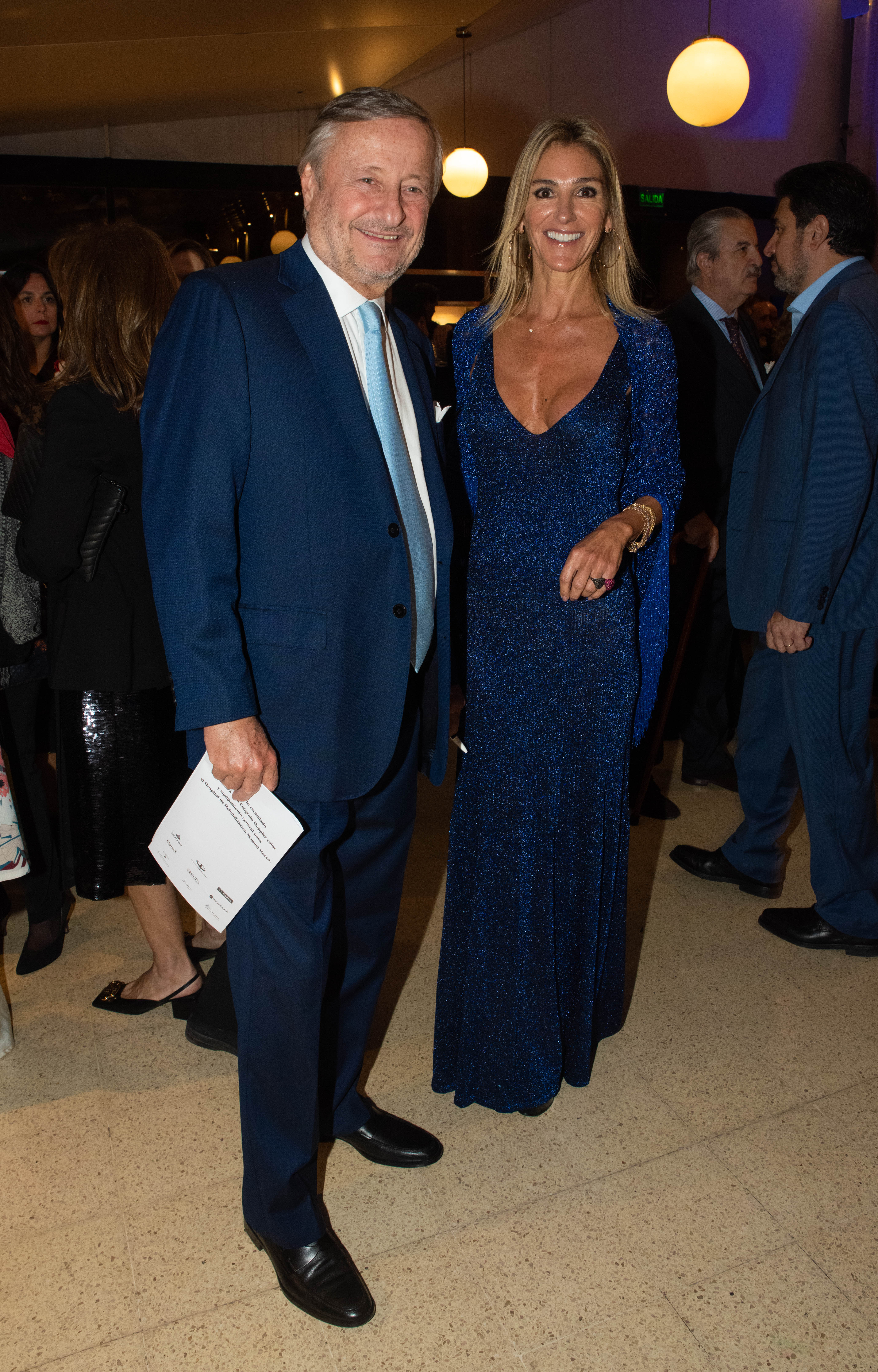 Cristiano Rattazzi y Gabriela Castellani