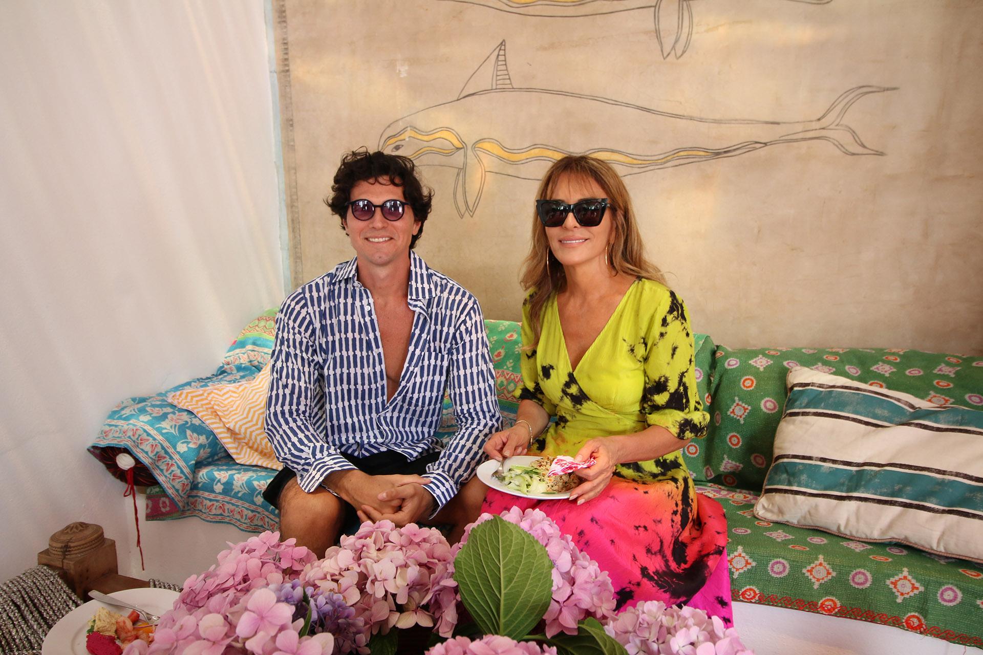 Facundo Garayalde y Patricia Della Giovampaola