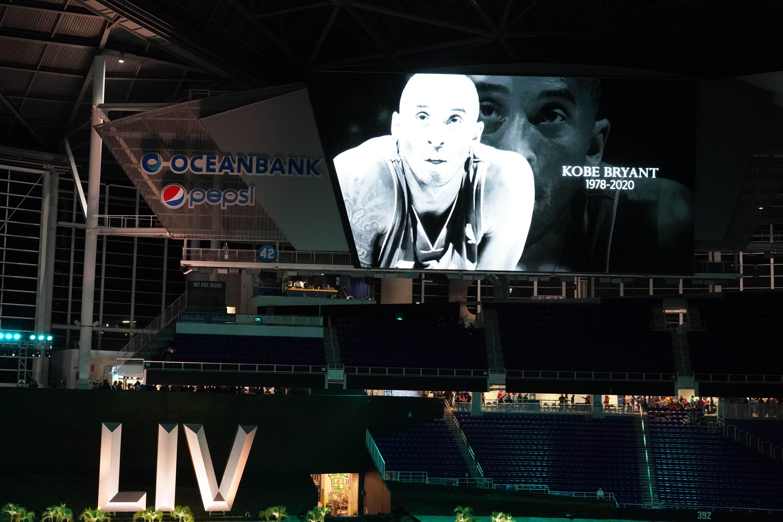 Los organizadores del Super Bowl LIV planean realizar un homenaje a Kobe