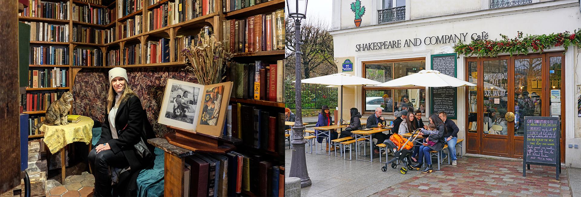 El interior de la librería y el café homónimo (Shutterstock)