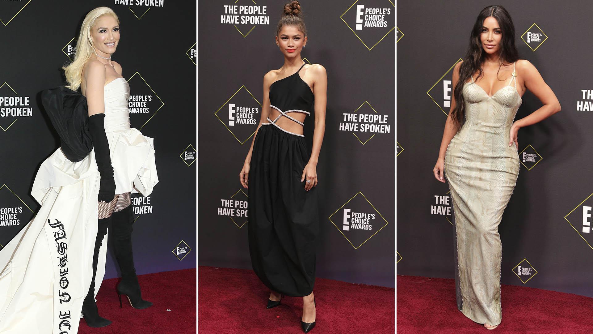 Gwen Stefani, Zendaya y Kim Kardashian