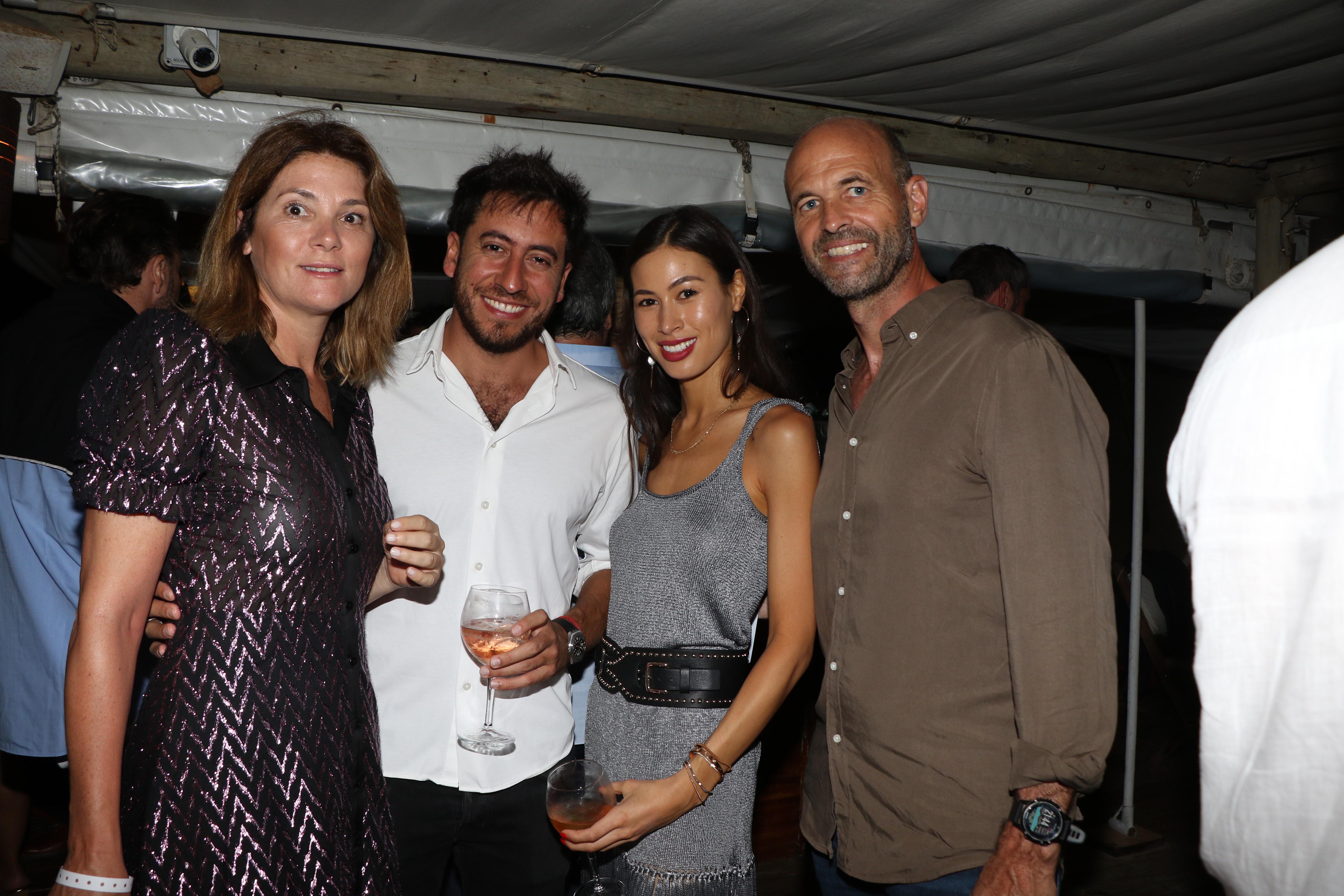 Javiera Álvarez Echagüe, Gastón Parisier, Mika Kim y Guillermo Dietrich