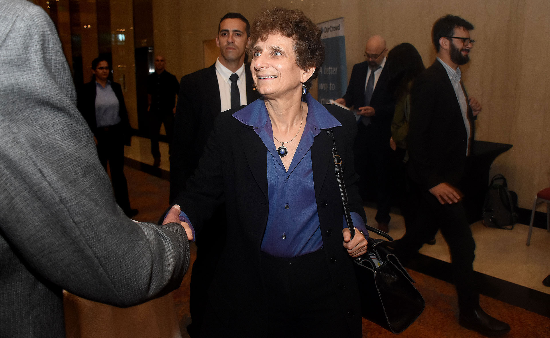 La embajadora de Israel en la Argentina, Galit Ronen