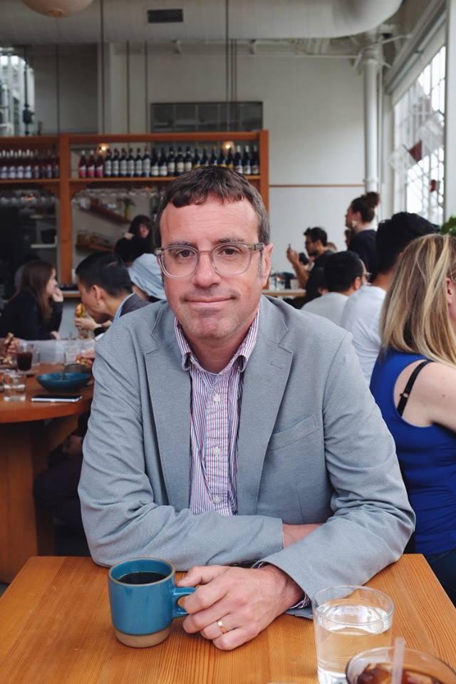 Chris Anderson, profesor de la Universidad de Leeds (Foto: Matthew Anderson)