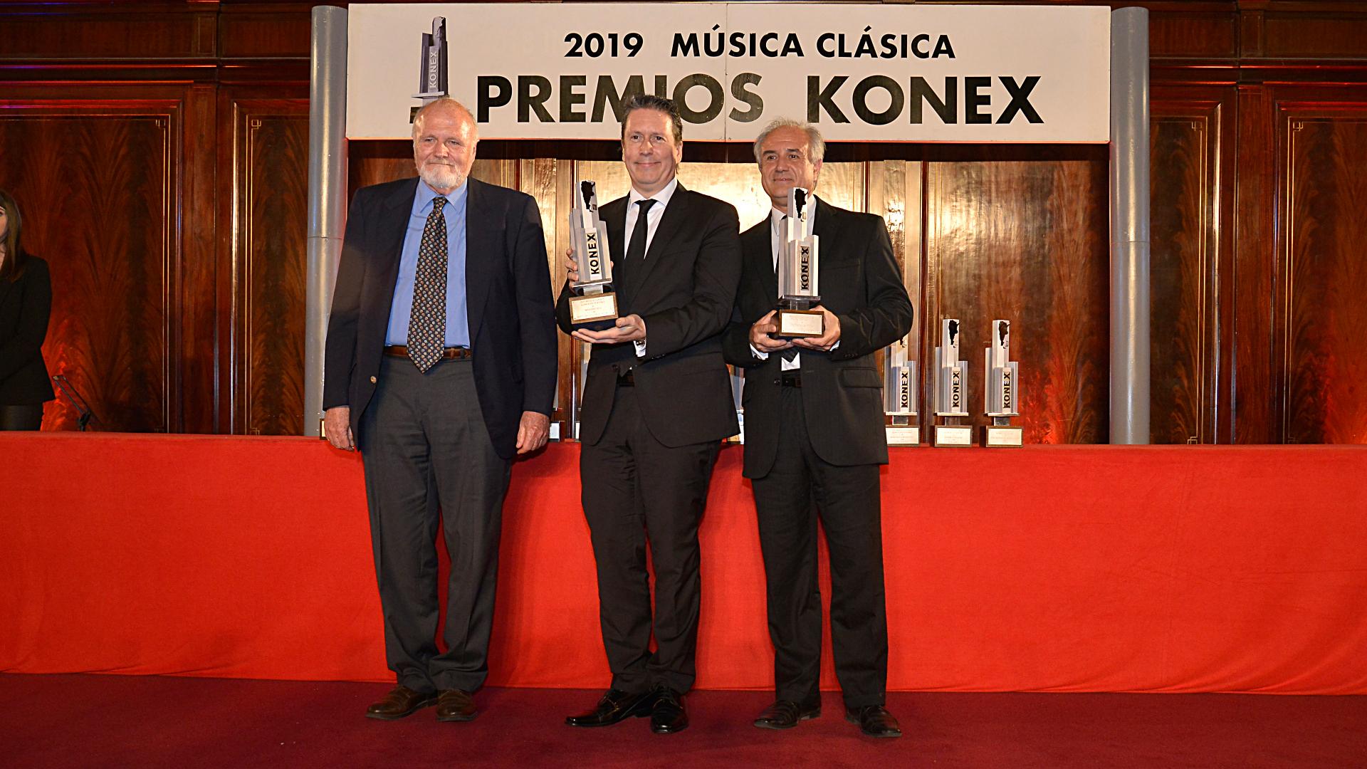Los instrumentistas de viento, Jorge de la Vega y Mariano Rey