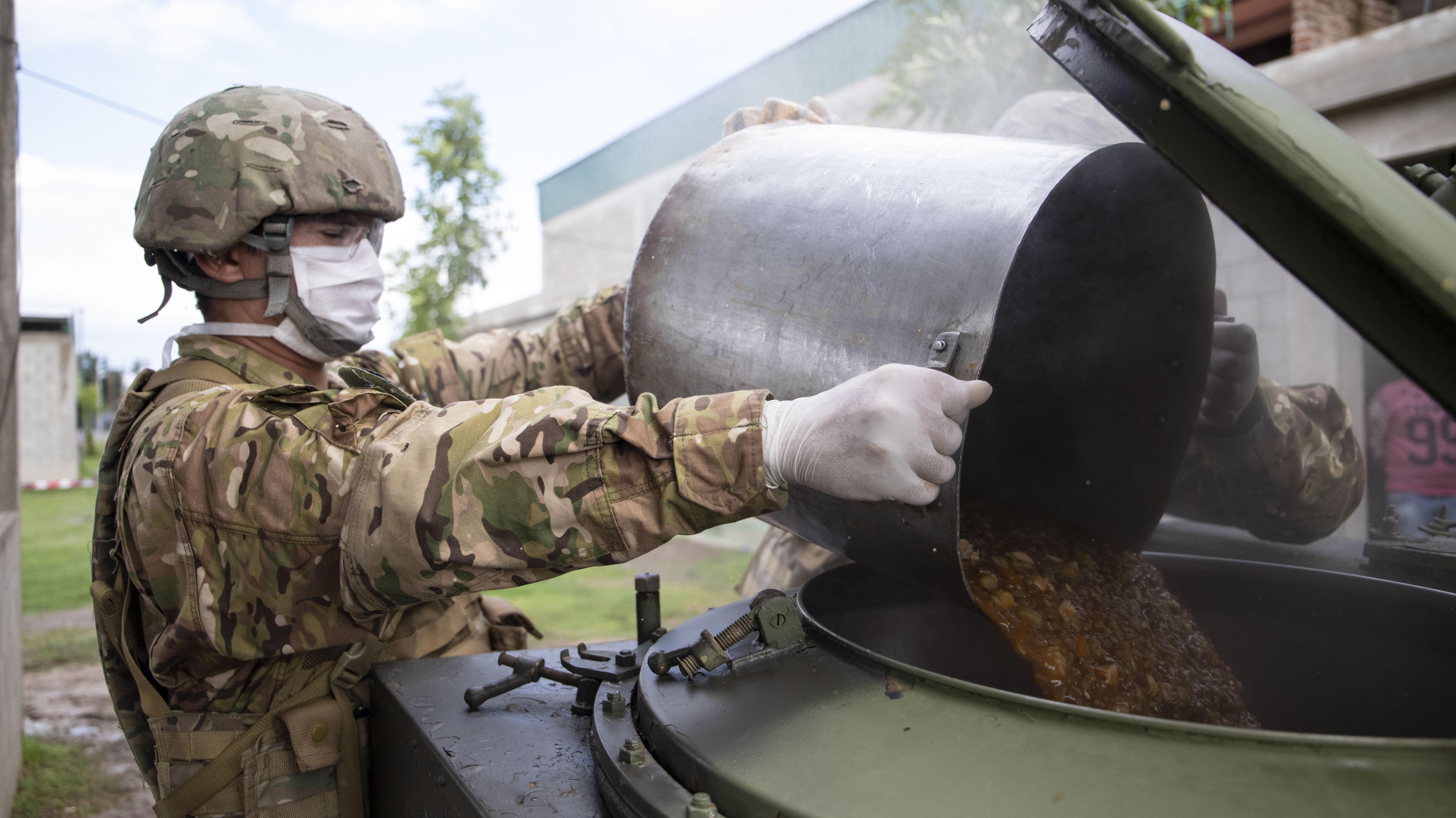Las unidades del Ejército se desplegaron en tres puntos estratégicos que se irán ampliando durante la semana