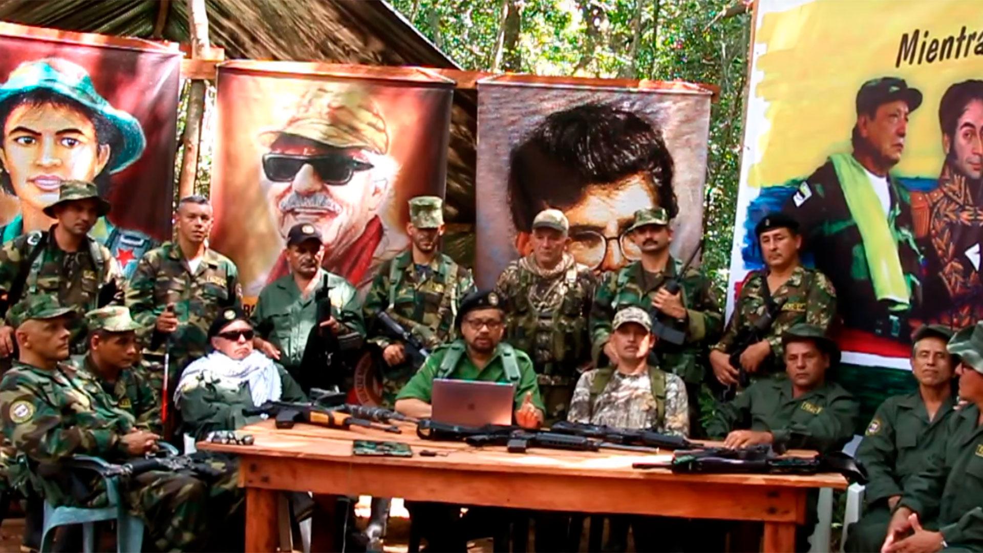 La facción de las FARC encabezadas por