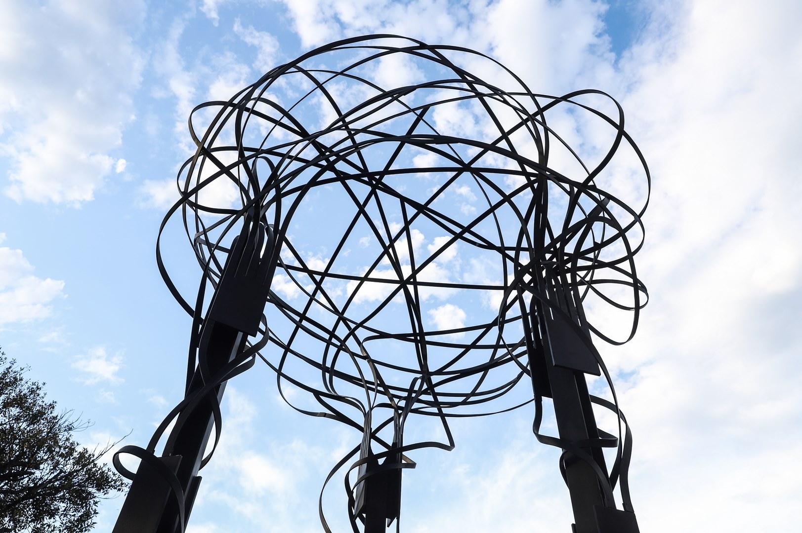 Se trata de la primera obra del artista, entregada como donación a la ciudad de Buenos Aires