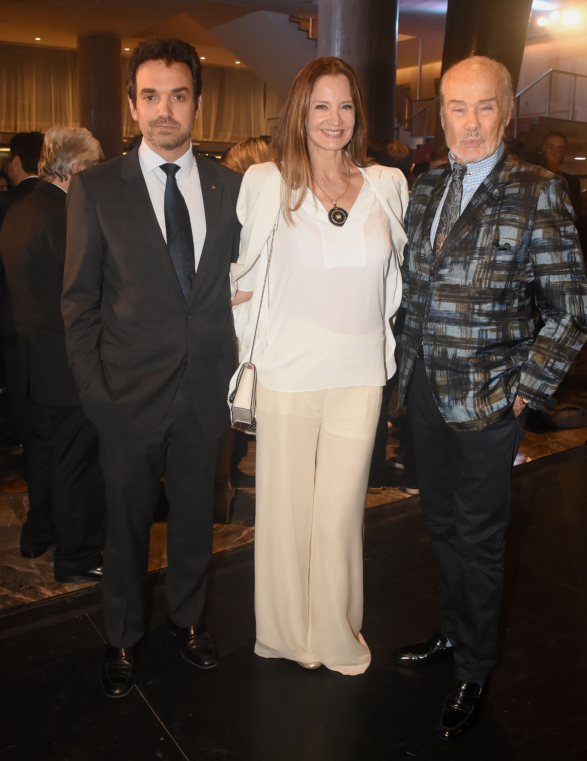 Sebastián Bagó, Roxana Zarecki y Gino Bogani