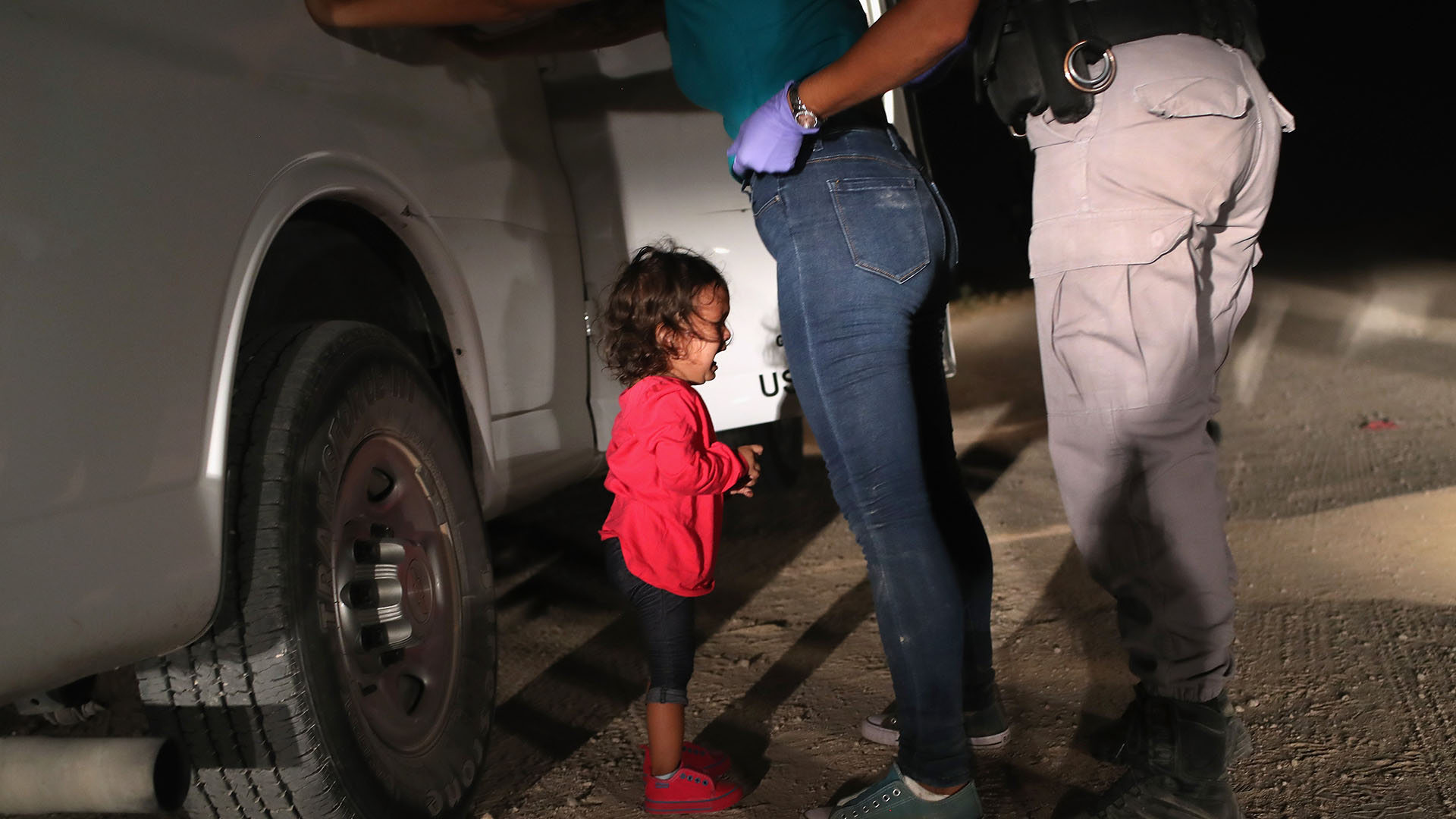La imagen ganadora del World Press Photo 2019 es del fotógrafo estadounidense John Moore (GETTY IMAGES NORTH AMERICA / AFP)