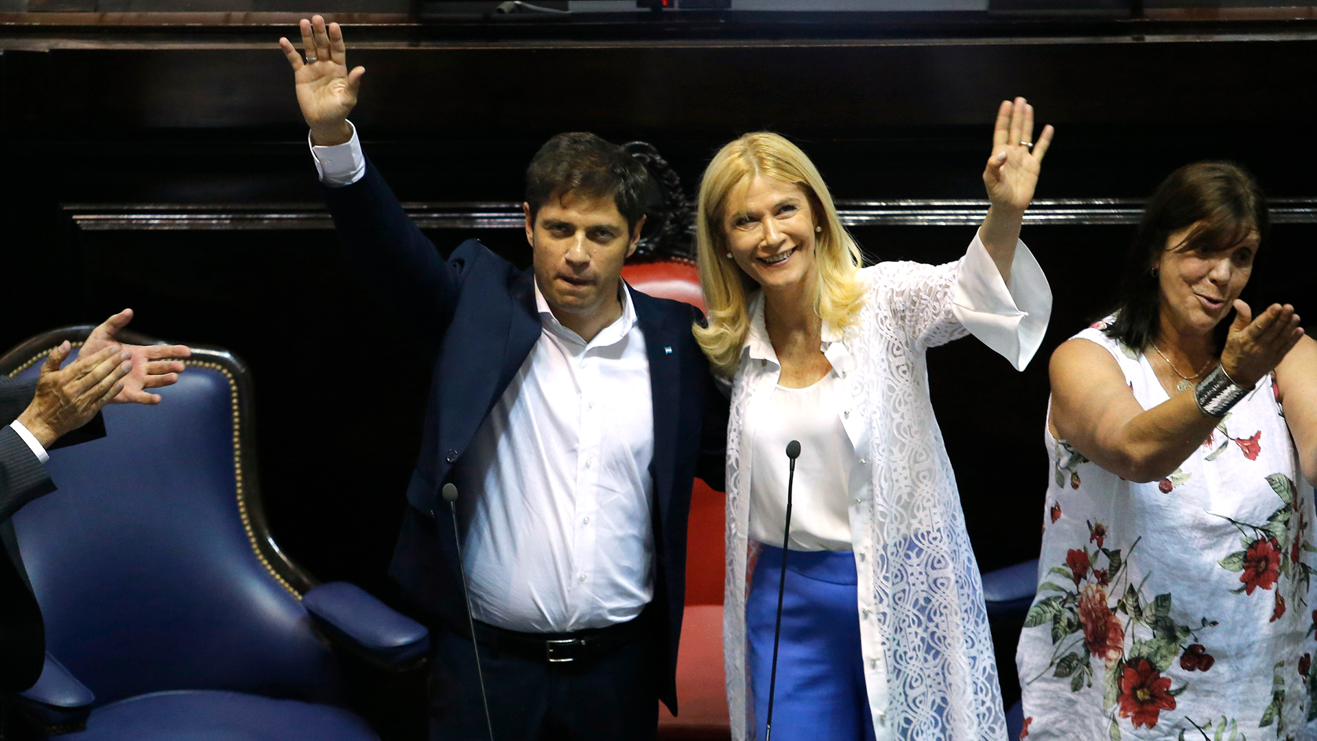Axel Kicillof y Verónica Magario, la fórmula que se impuso el 27 de octubre