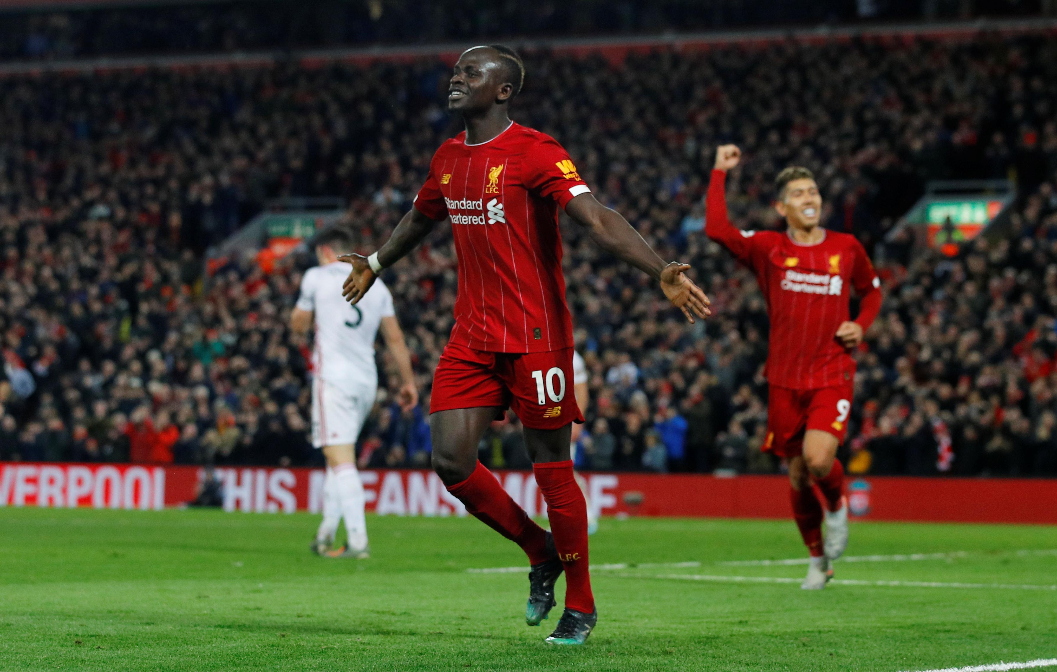 Sadio Mané, senegalés de 27 años, Liverpool - USD 173,4