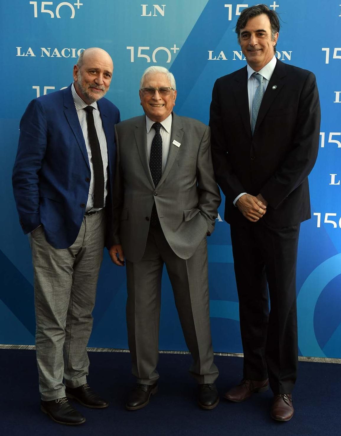 Jesús Rodríguez, auditor general de la Nación, Jorge Todesca, titular del INDEC, y el senador Esteban Bullrich