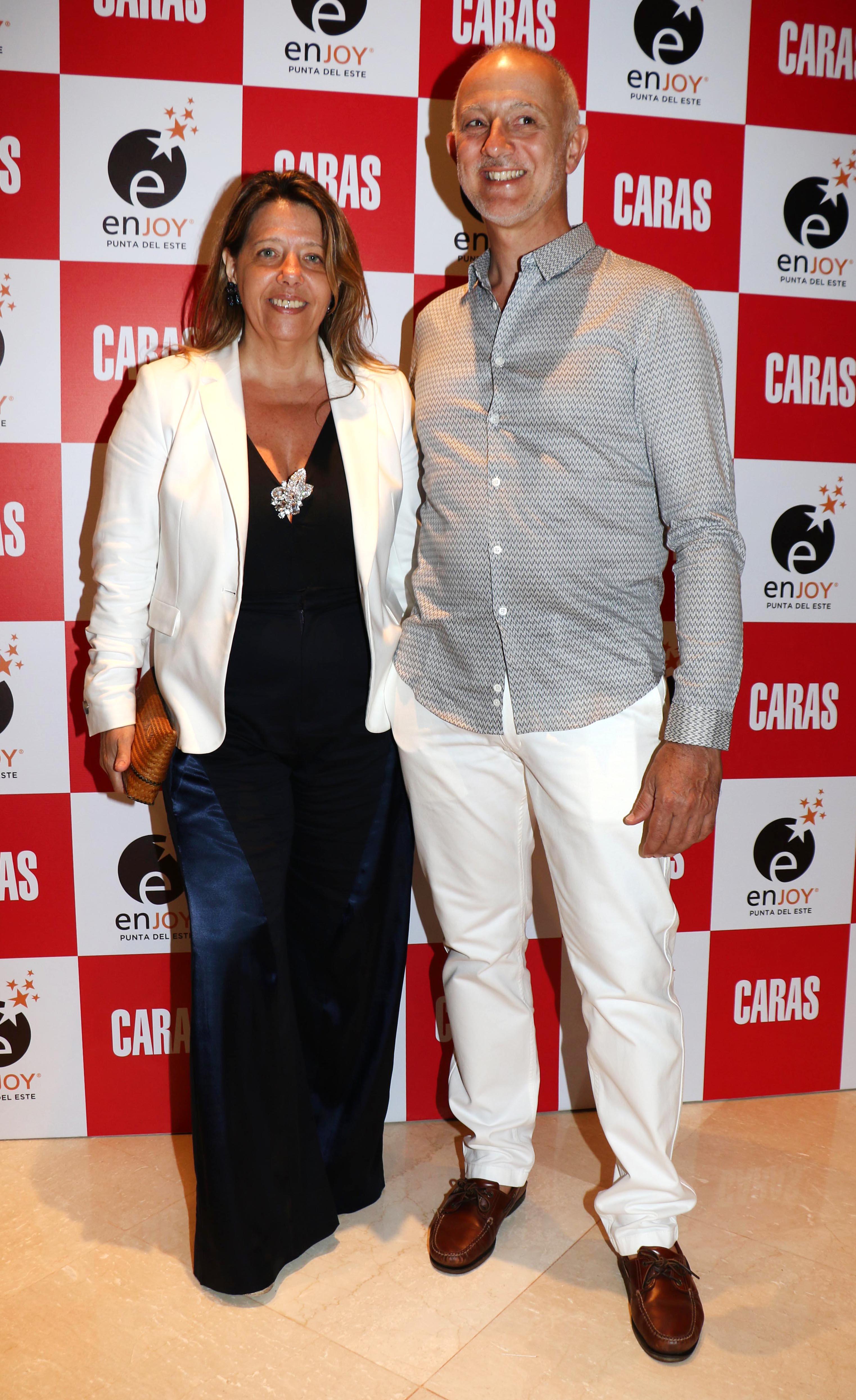 María Claudia Pedrayes y Carlos Juni