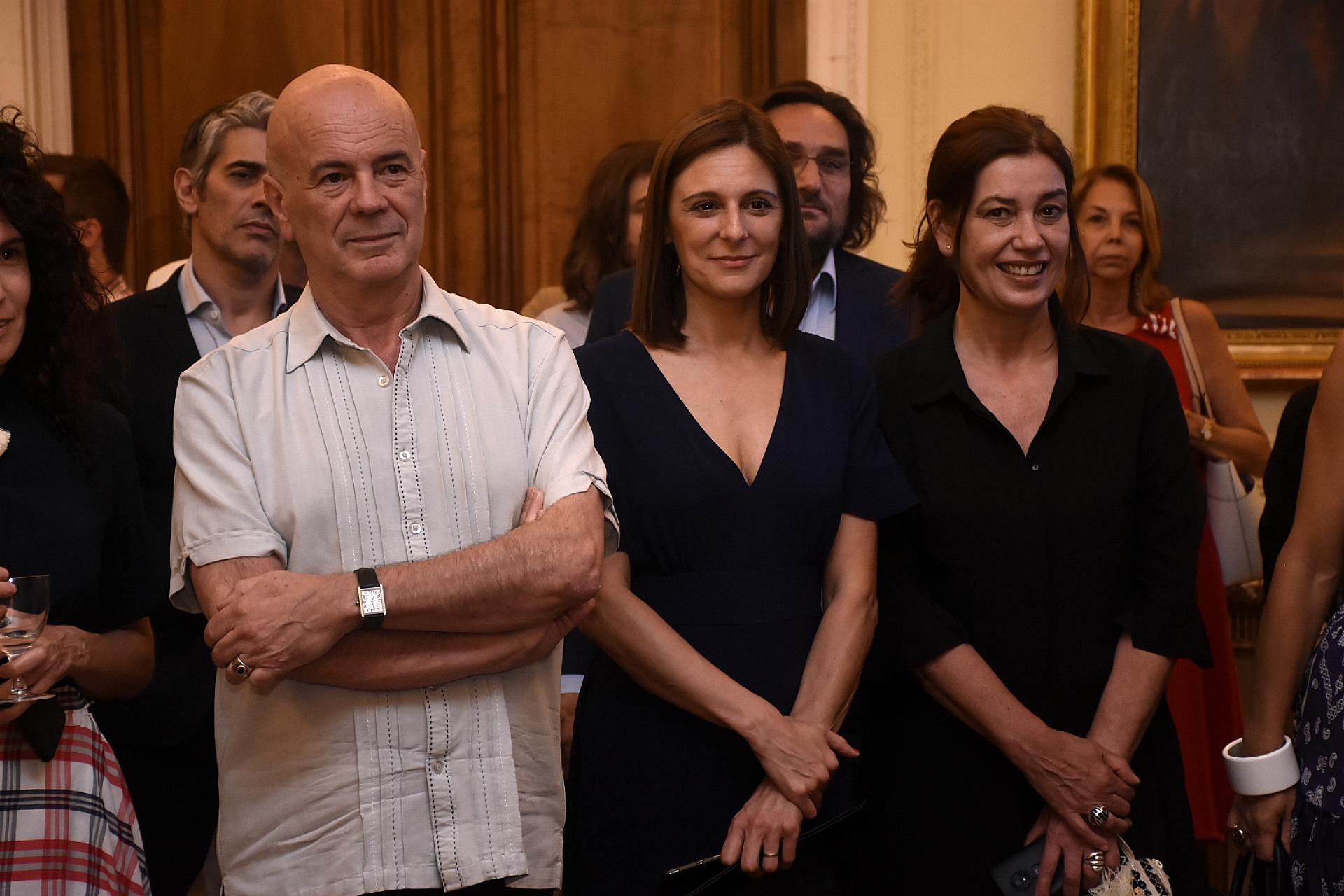 El director del Complejo Teatral de Buenos Aires, Jorge Telerman