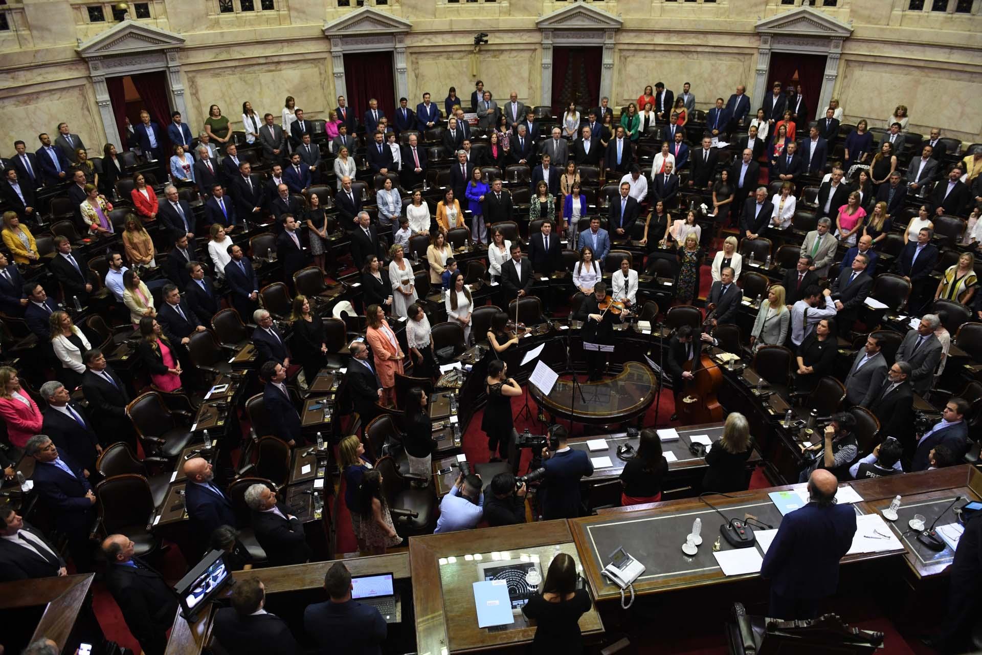 Vista general de la Cámara de Diputados