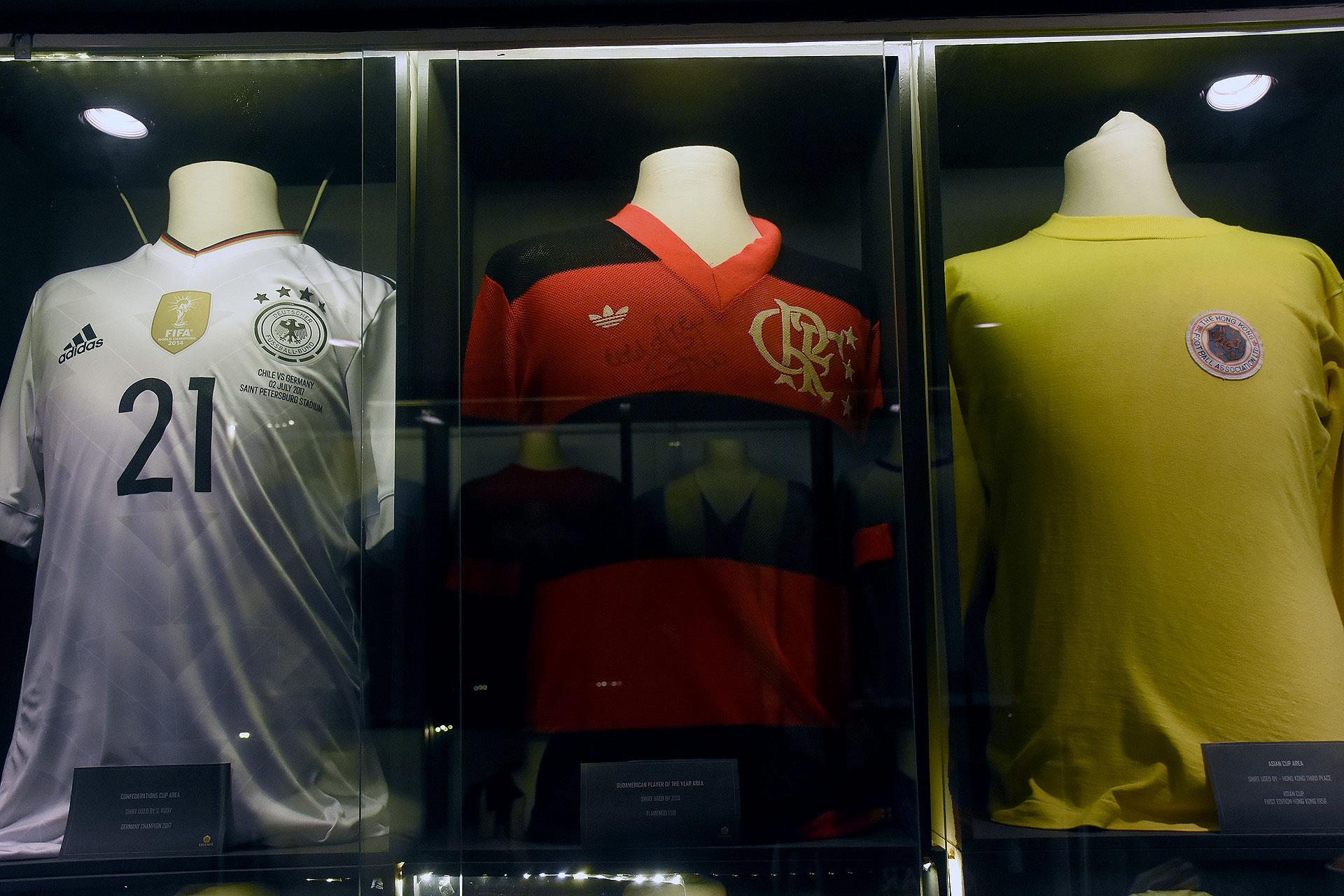 Alemania, Flamengo de Brasil y Hong Kong, presentes en el Museo Legends (Nicolas Stulberg)