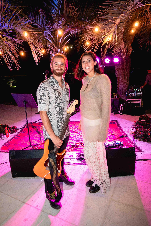 Pedro Pasquale y Renata Repetto