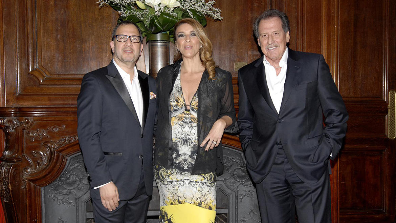 Junto al ex Secretario General de la provincia de Buenos Aires, Fabián Perechodnik, y su ex esposa Gabriela Solustri (Gerardo Viercovich)