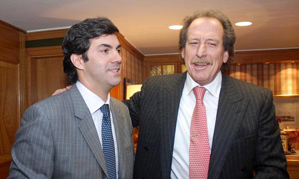 Junto a Juan Manuel Urtubey, ex gobernador de Salta