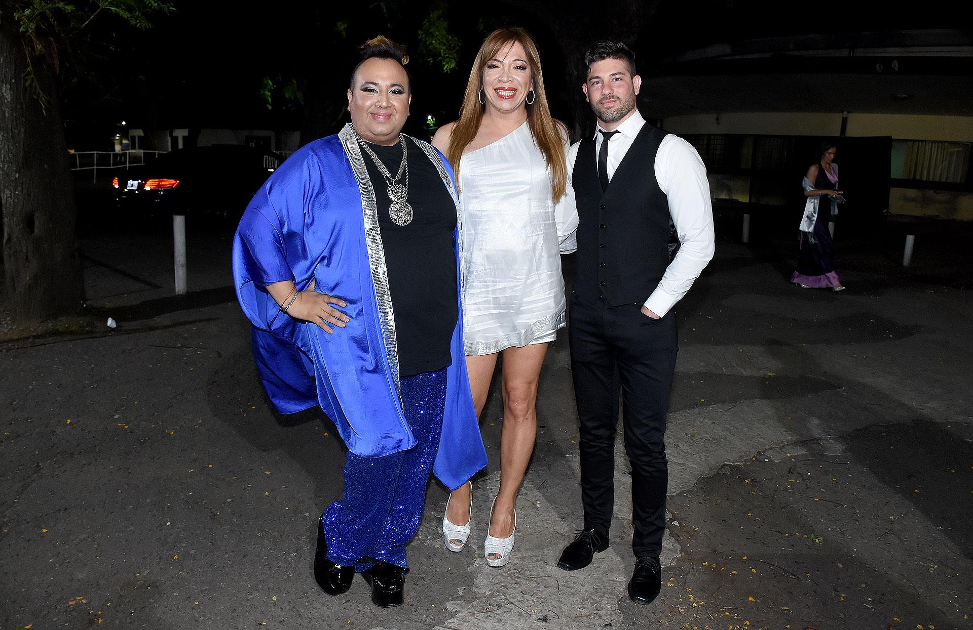 La Flopy, Lizy Tagliani y Leo Alturria