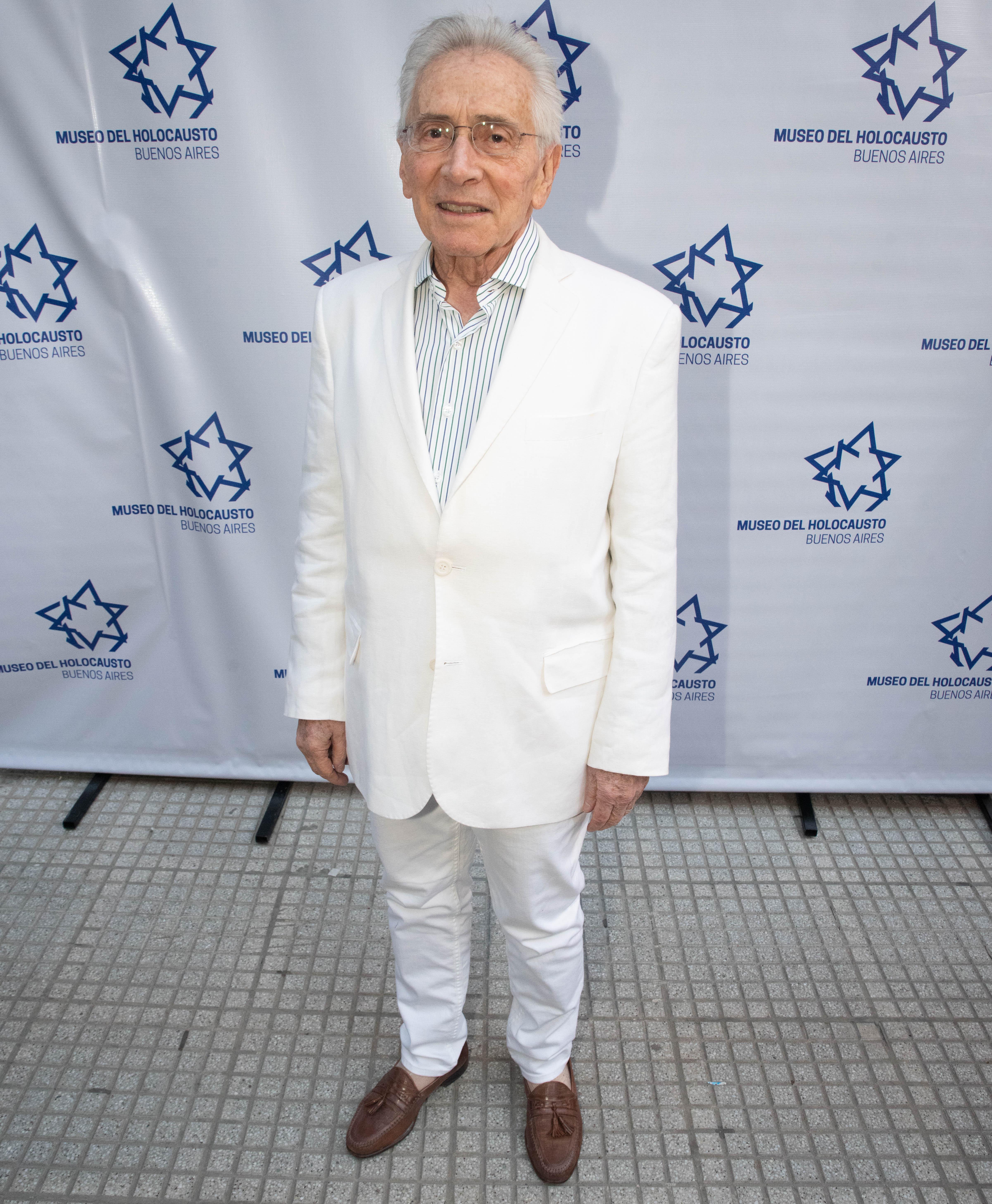 El escritor Marcos Aguinis