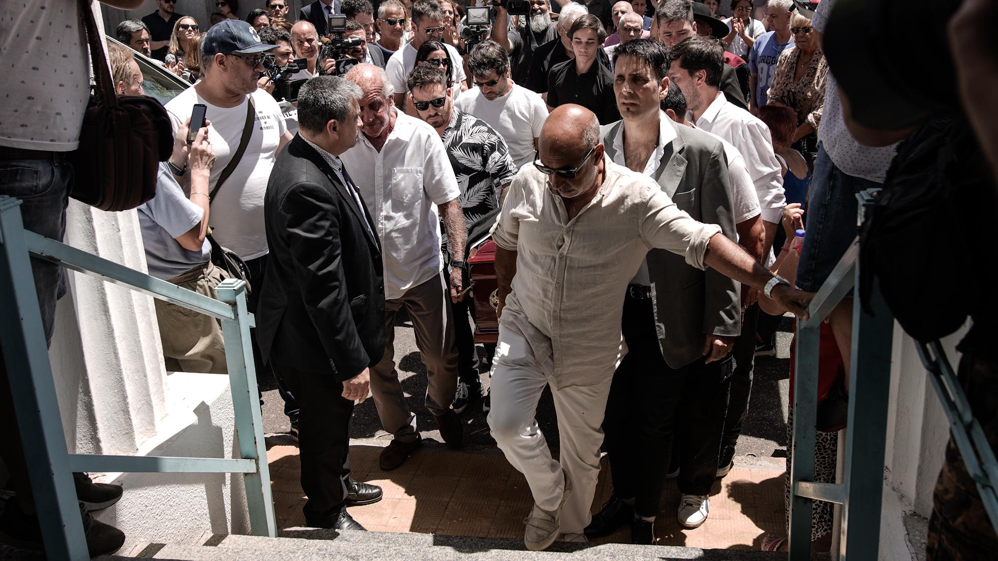 Los seres queridos de Santiago Bal le dieron el último adiós este martes al mediodía