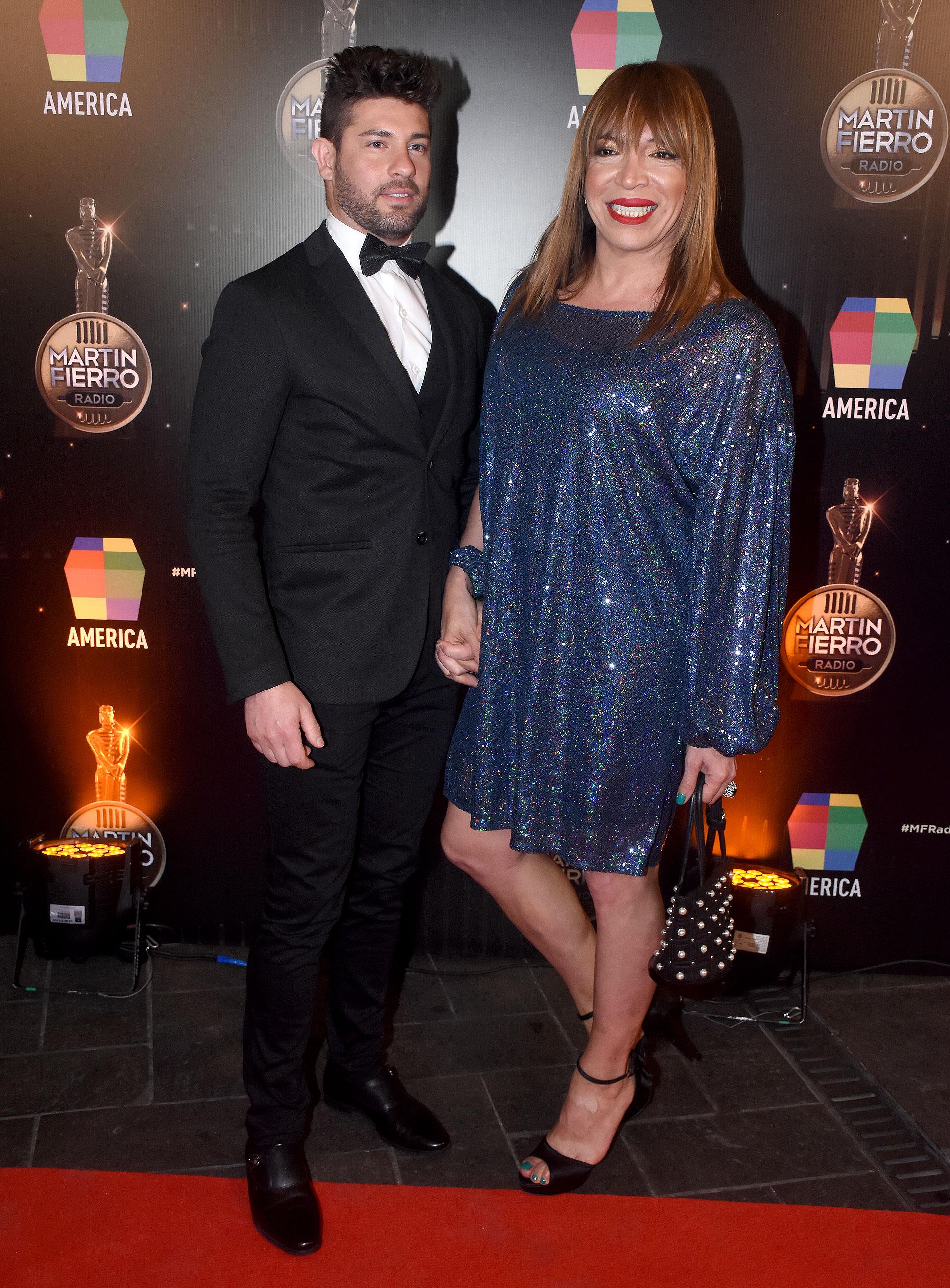Lizy Tagliani y su novio, Leo Alturria