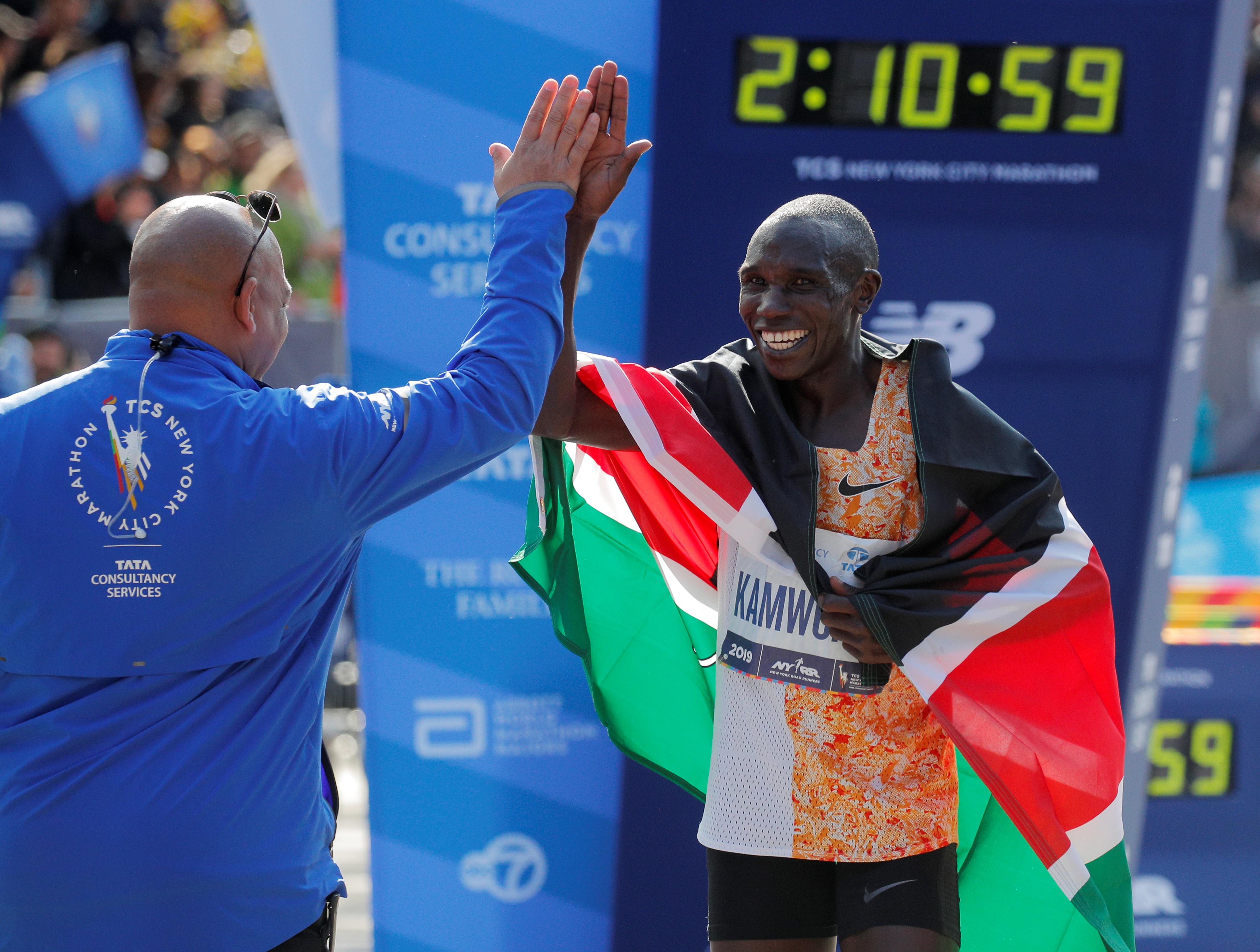 El keniano de 26 años se consagró como el mejor por segunda vez en los últimos tres años