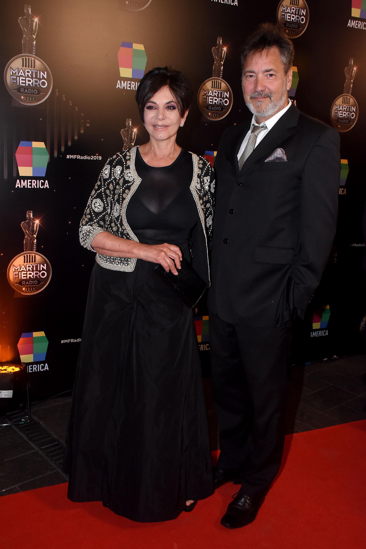 Mónica Gutiérrez y su esposo, Alejandro Fabian Gawianski