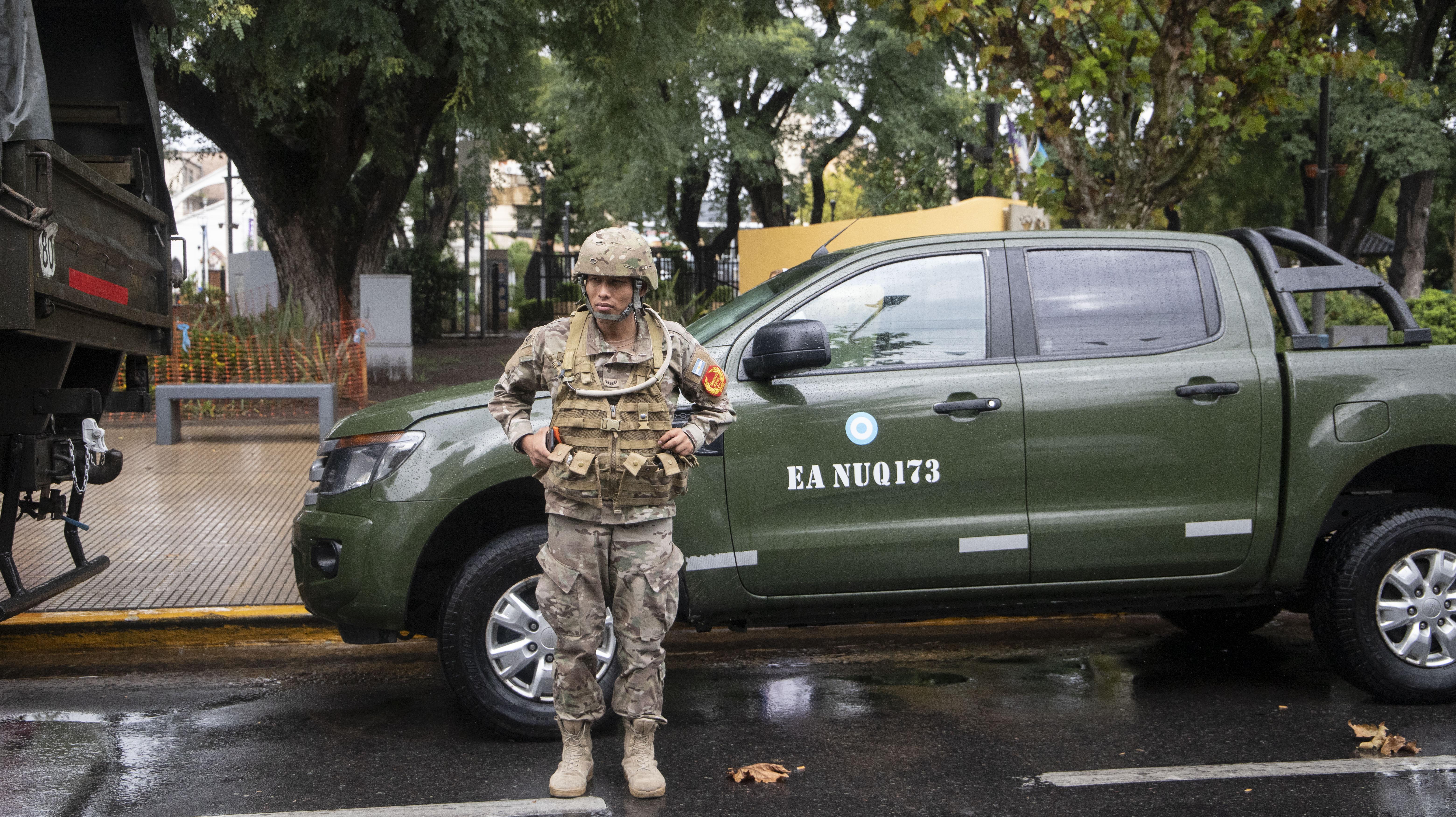 El Ejército participará de otros operativos durante la crisis generada por el coronavirus