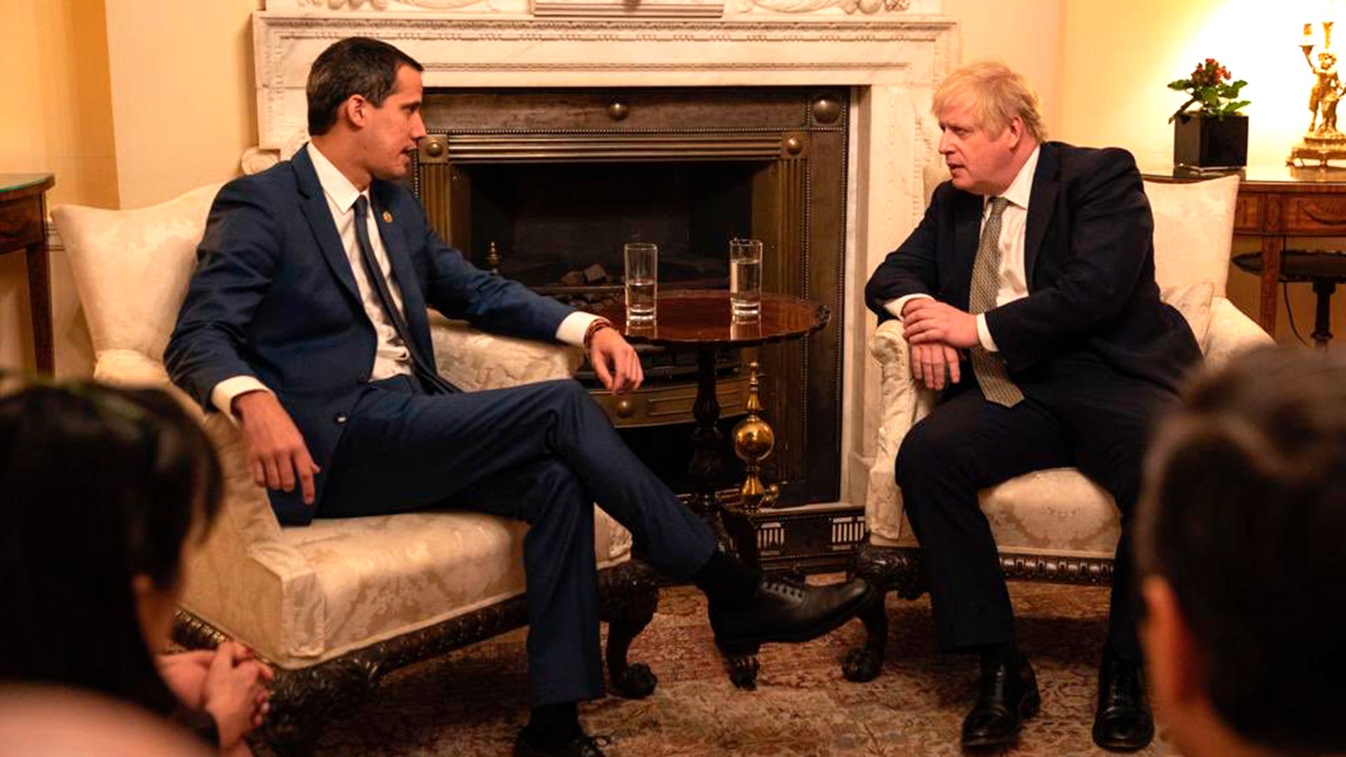 """Juan Guaidó se reunió con Boris Johnson en Londres: """"El Reino Unido será un  socio fundamental para los venezolanos"""" - Infobae"""