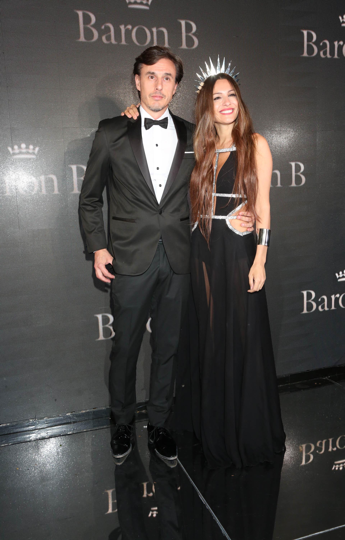 Carolina 'Pampita' Ardohain junto a su futuro esposo, Roberto García Moritán