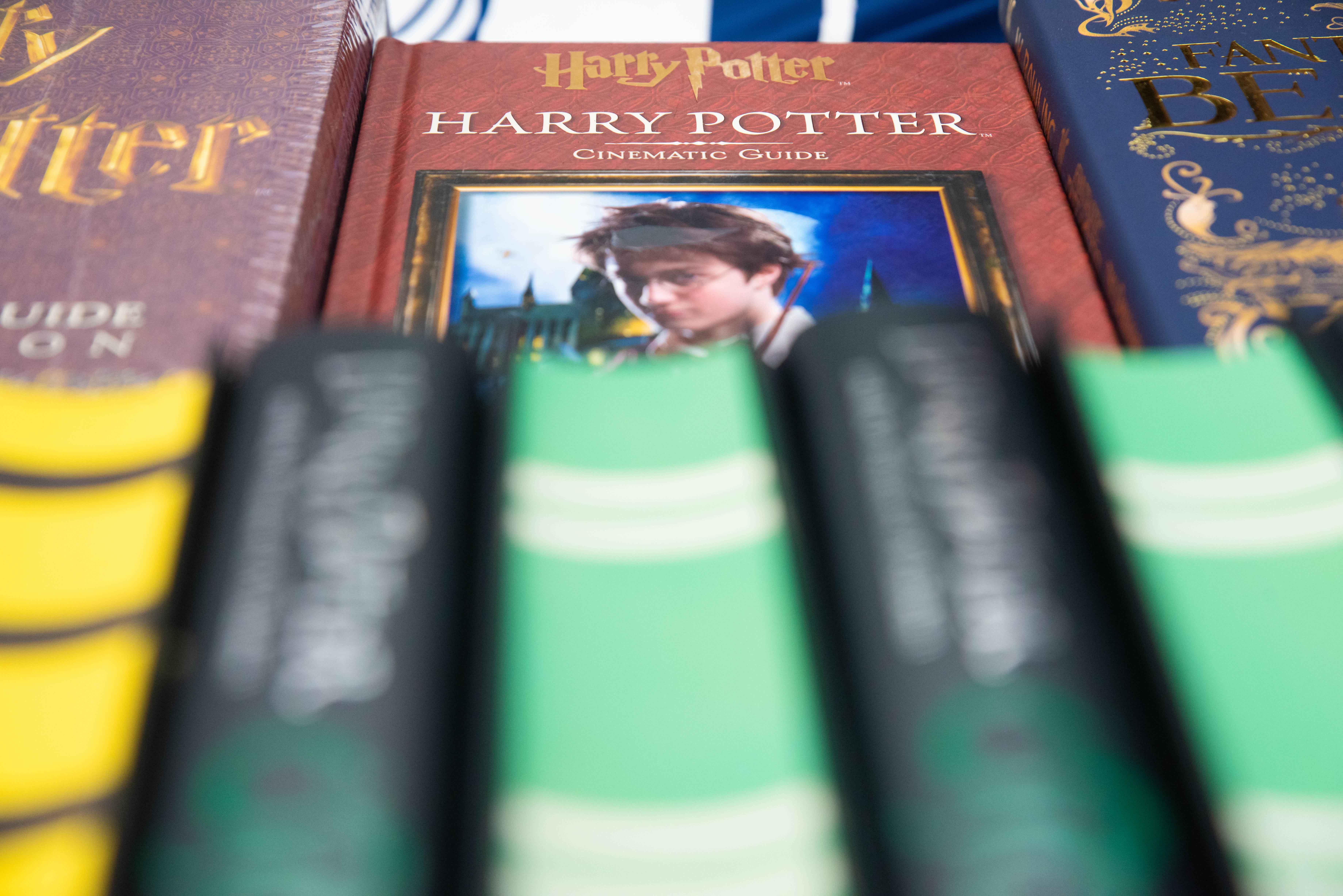 Los fánaticos podían comprar los libros de la saga de Harry Potter