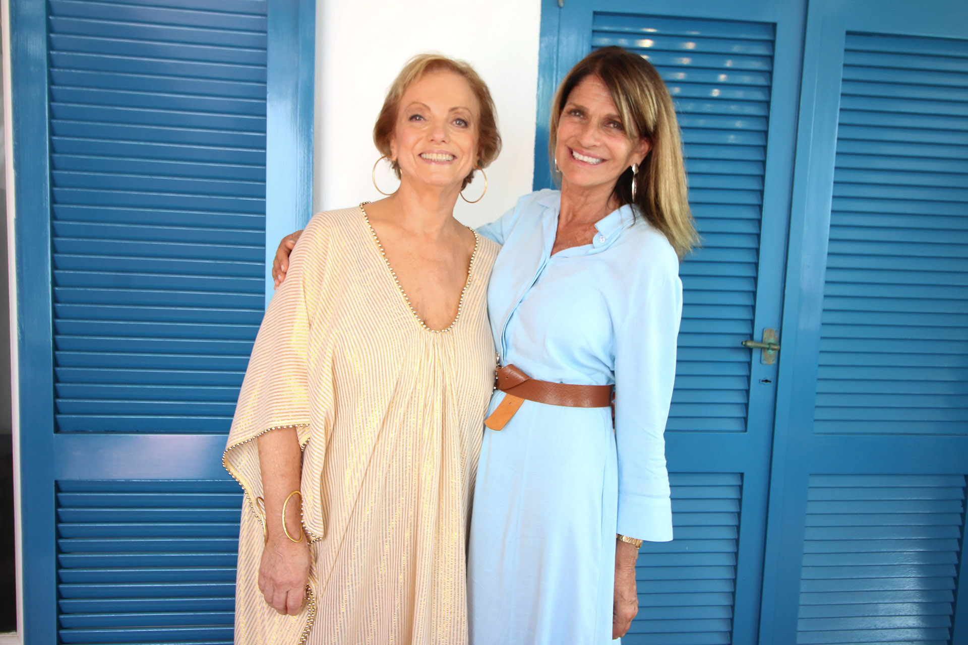 Roberta Freymann y Teresa Calandra