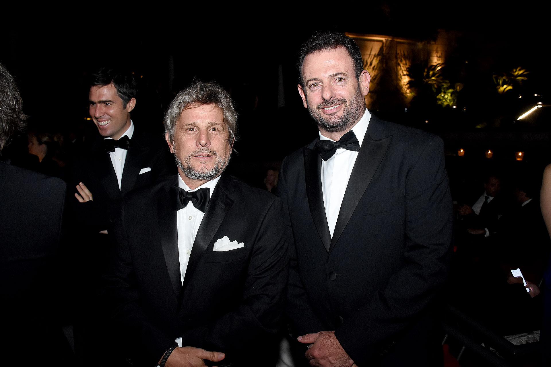 """Sebastián """"Pappo"""" Roca y José Urtubey"""