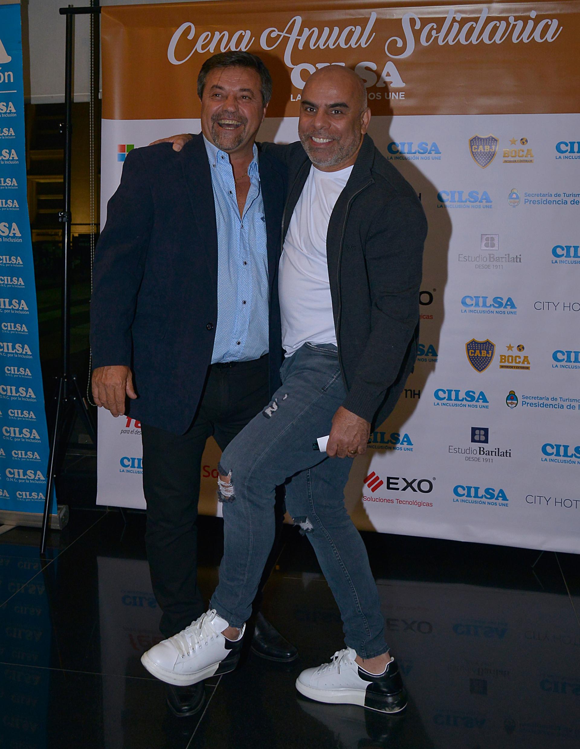 Ricardo Caruso Lombardi y Chicho Serna
