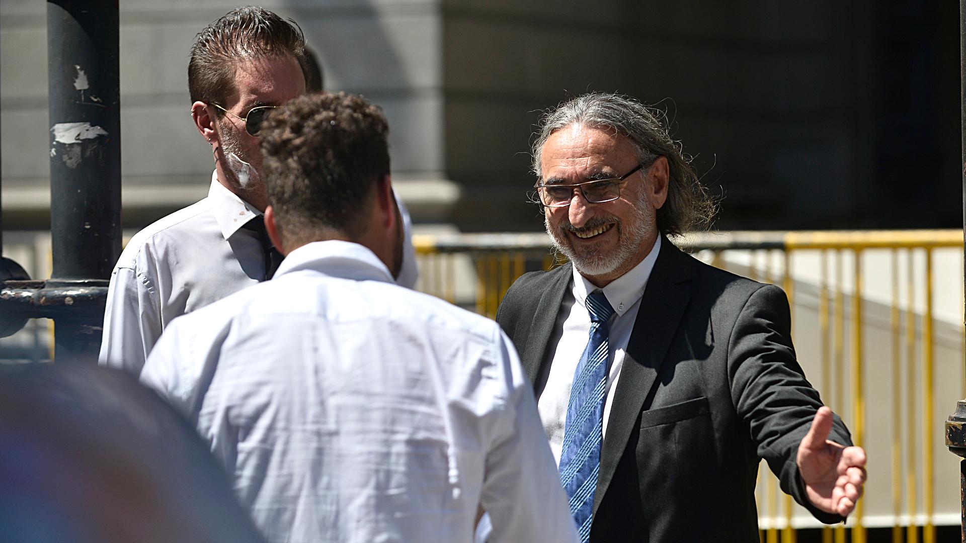 El ministro de Agricultura, Luis Basterra