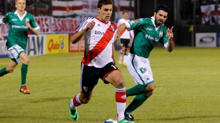 Lucas Boyé, River, Ferro, Copa Argentina, Marcelo Gallardo
