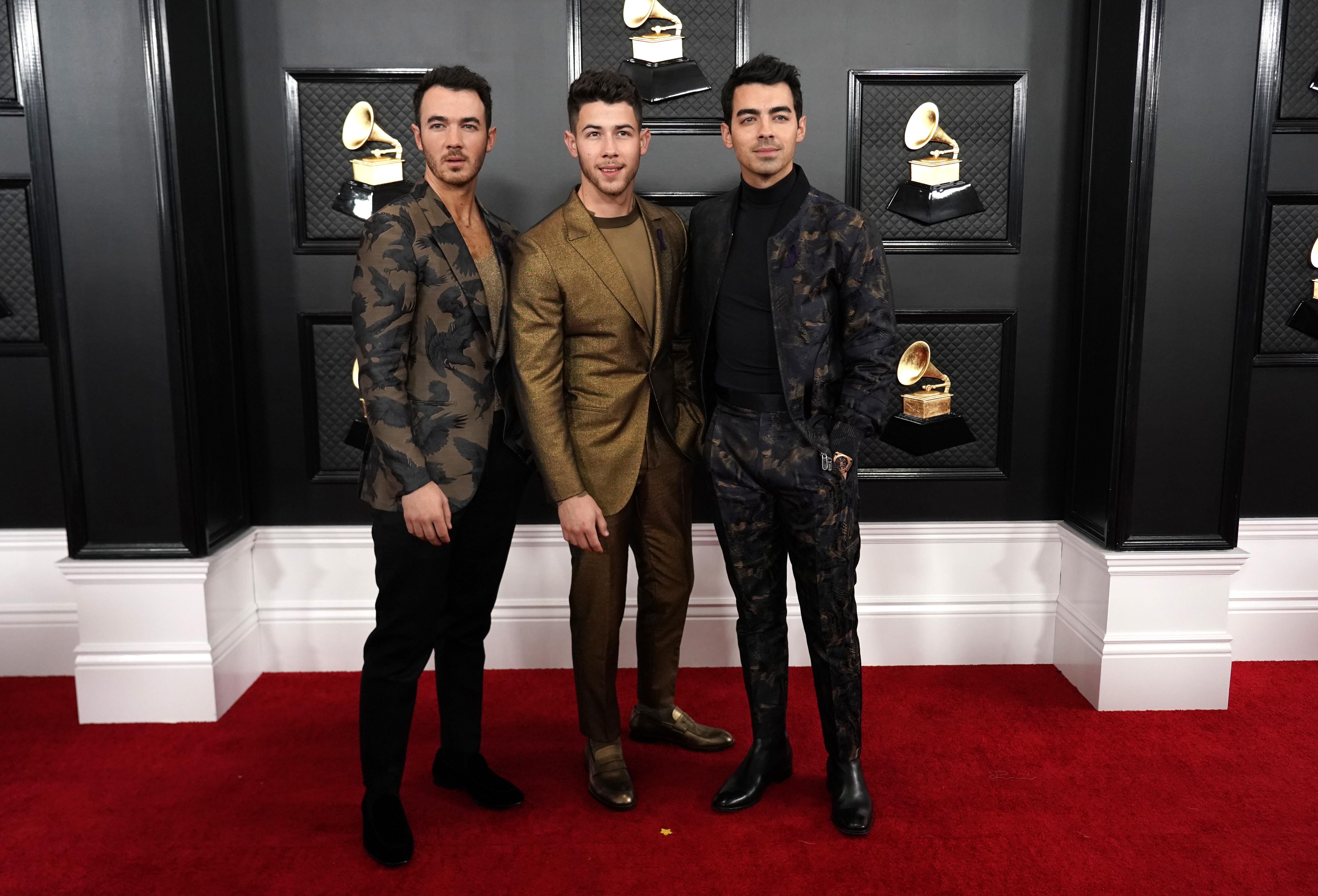 Kevin Jonas, NIck Jonas y Joe Jonas,