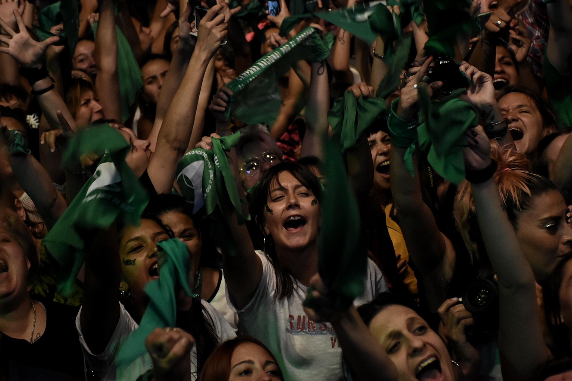 Miles de jóvenes se hicieron presente en la movilización
