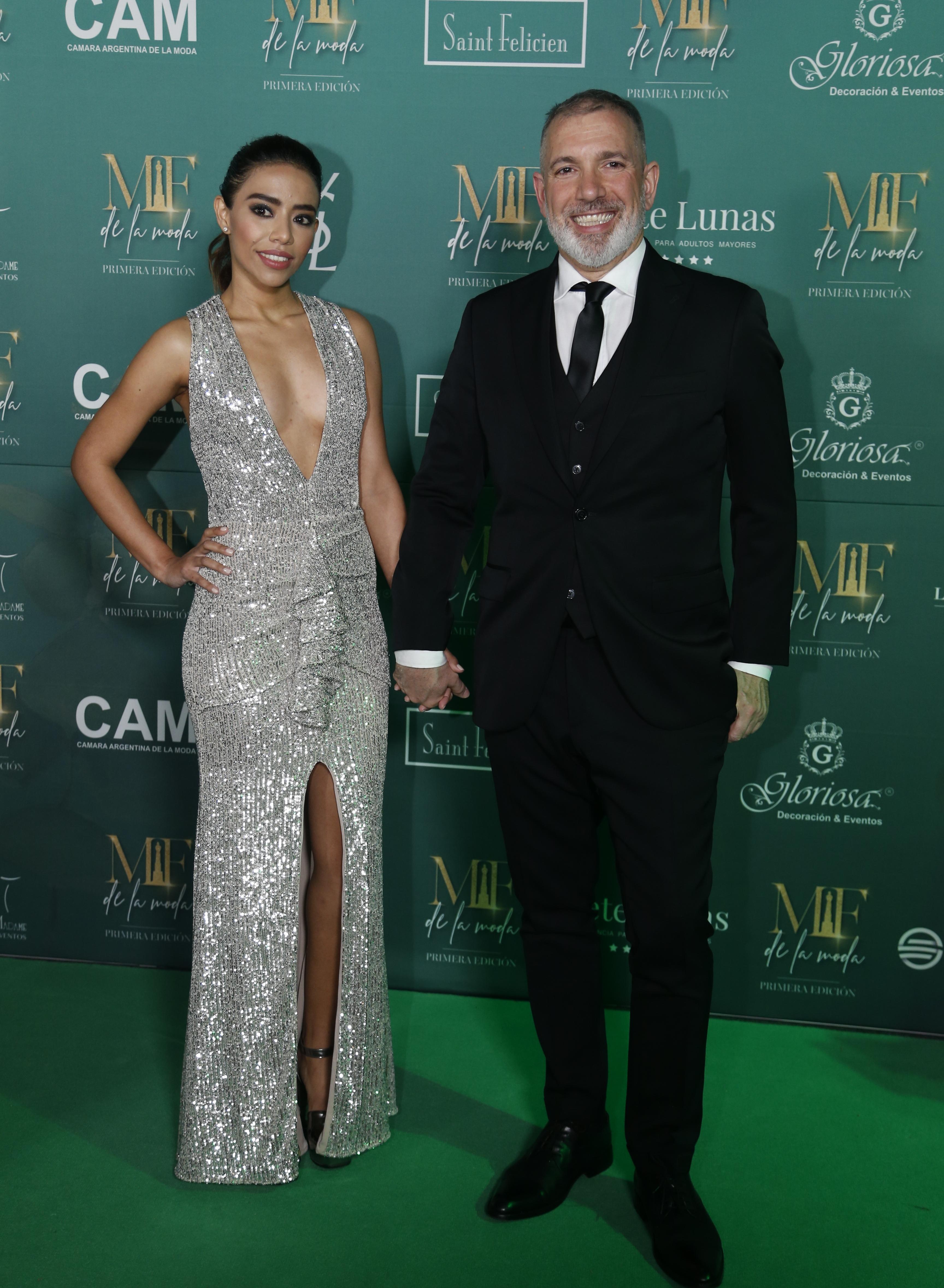Pablo Dugan nominado a mejor estilo panelista masculino junto con su novia Larissa Sorato (Nicolás Aboaf)