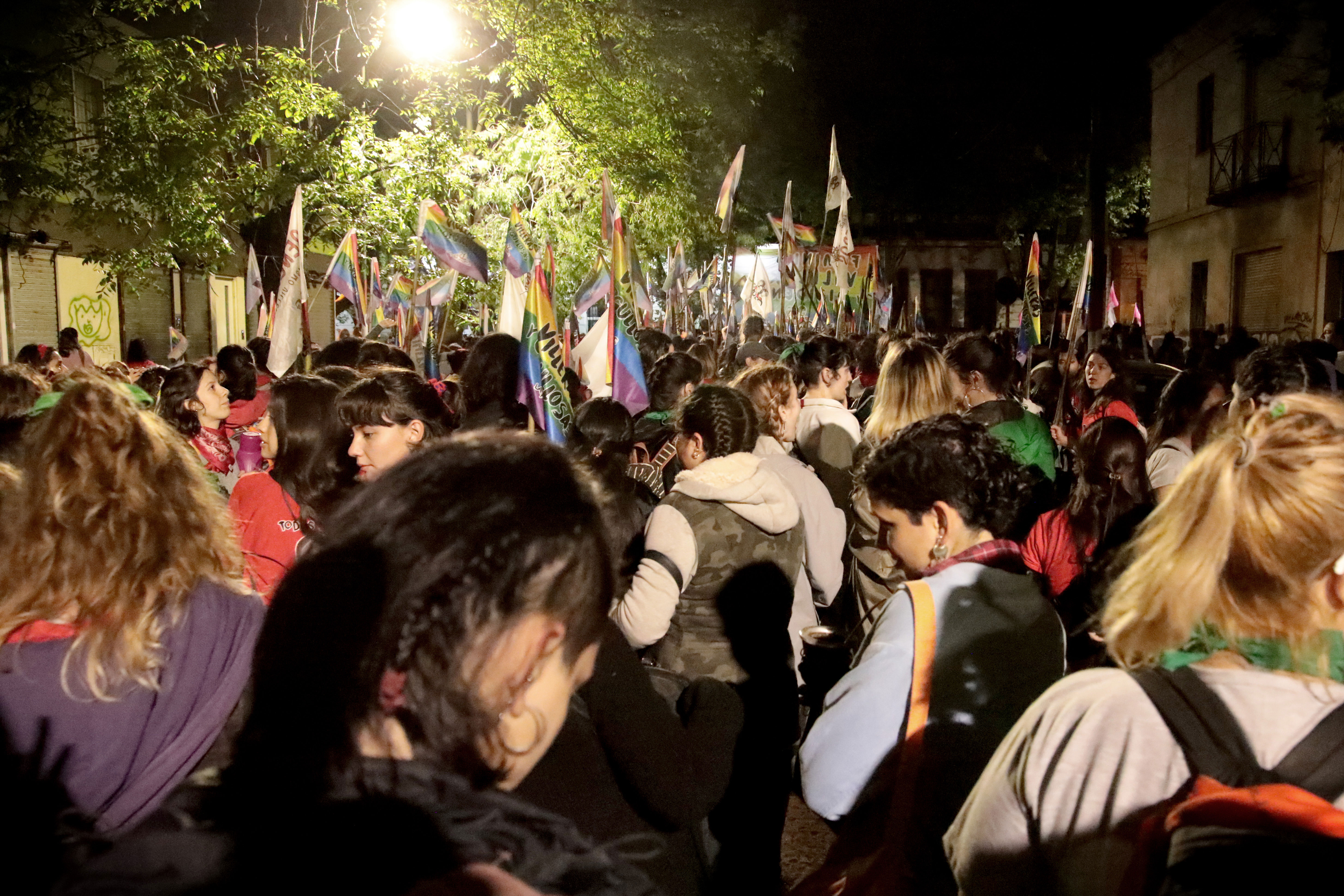 Las marchas son el momento cumbre de los Encuentros Nacionales de Mujeres (María Paula Avila)