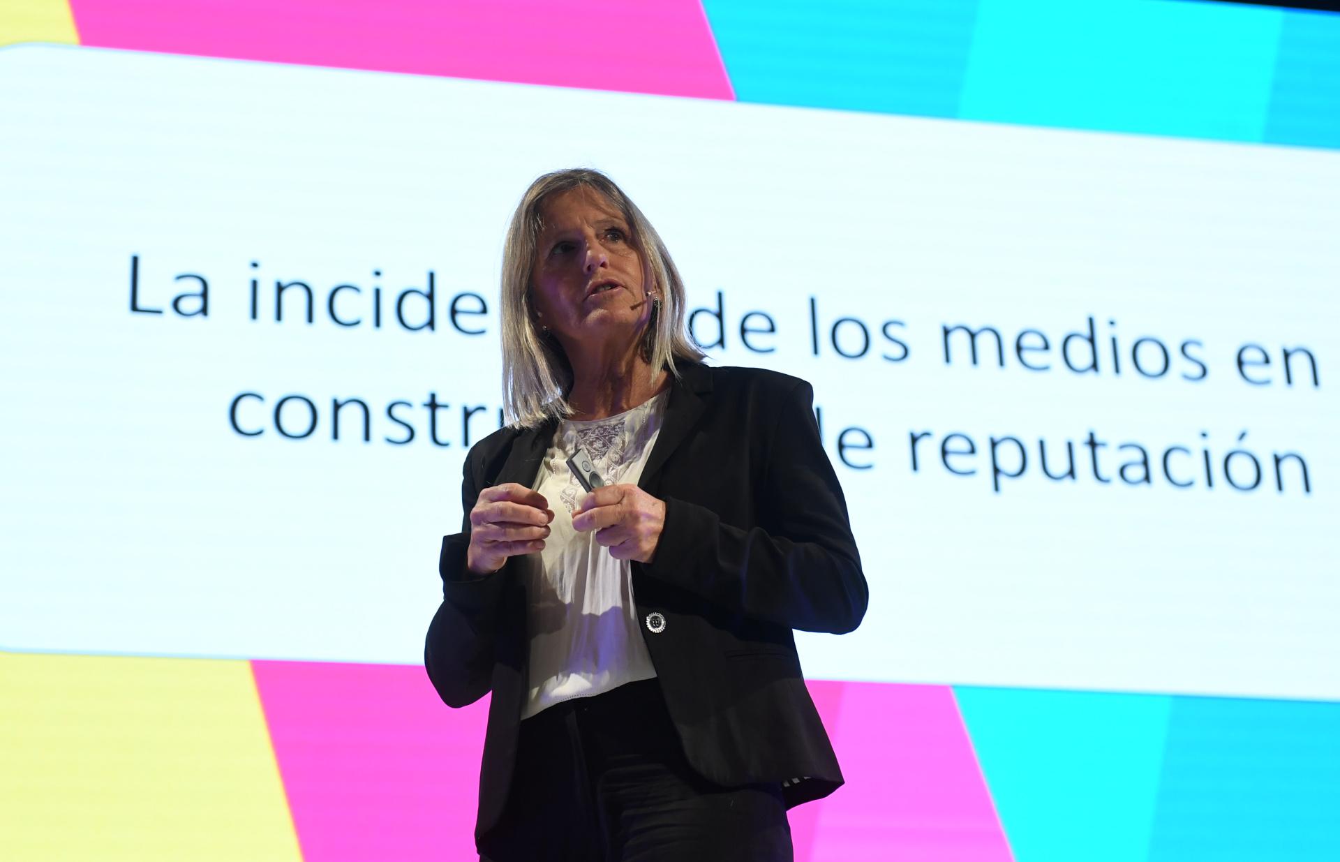 Cecilia Mosto, Socia CIO Investigación, habló sobre la incidencia de los medios en la construcción de reputación